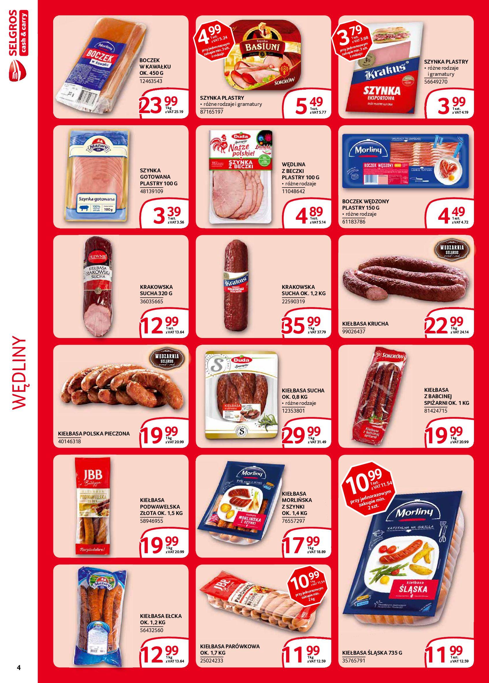 Gazetka Selgros - Extra oferta-05.02.2020-19.02.2020-page-4