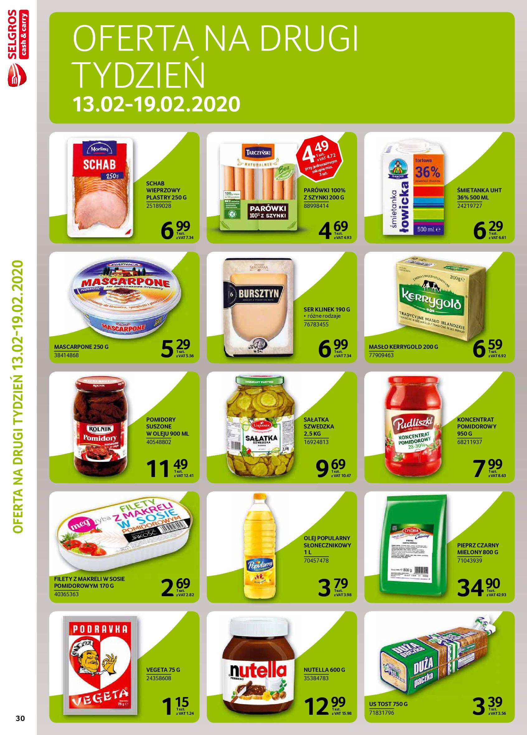 Gazetka Selgros - Extra oferta-05.02.2020-19.02.2020-page-32