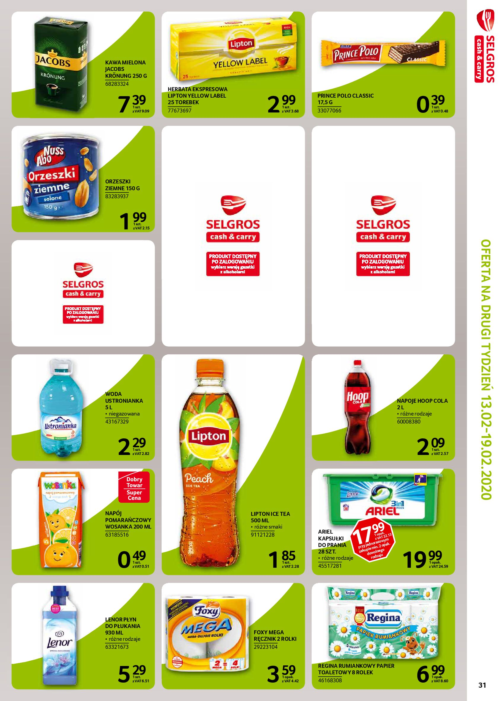 Gazetka Selgros - Extra oferta-05.02.2020-19.02.2020-page-33
