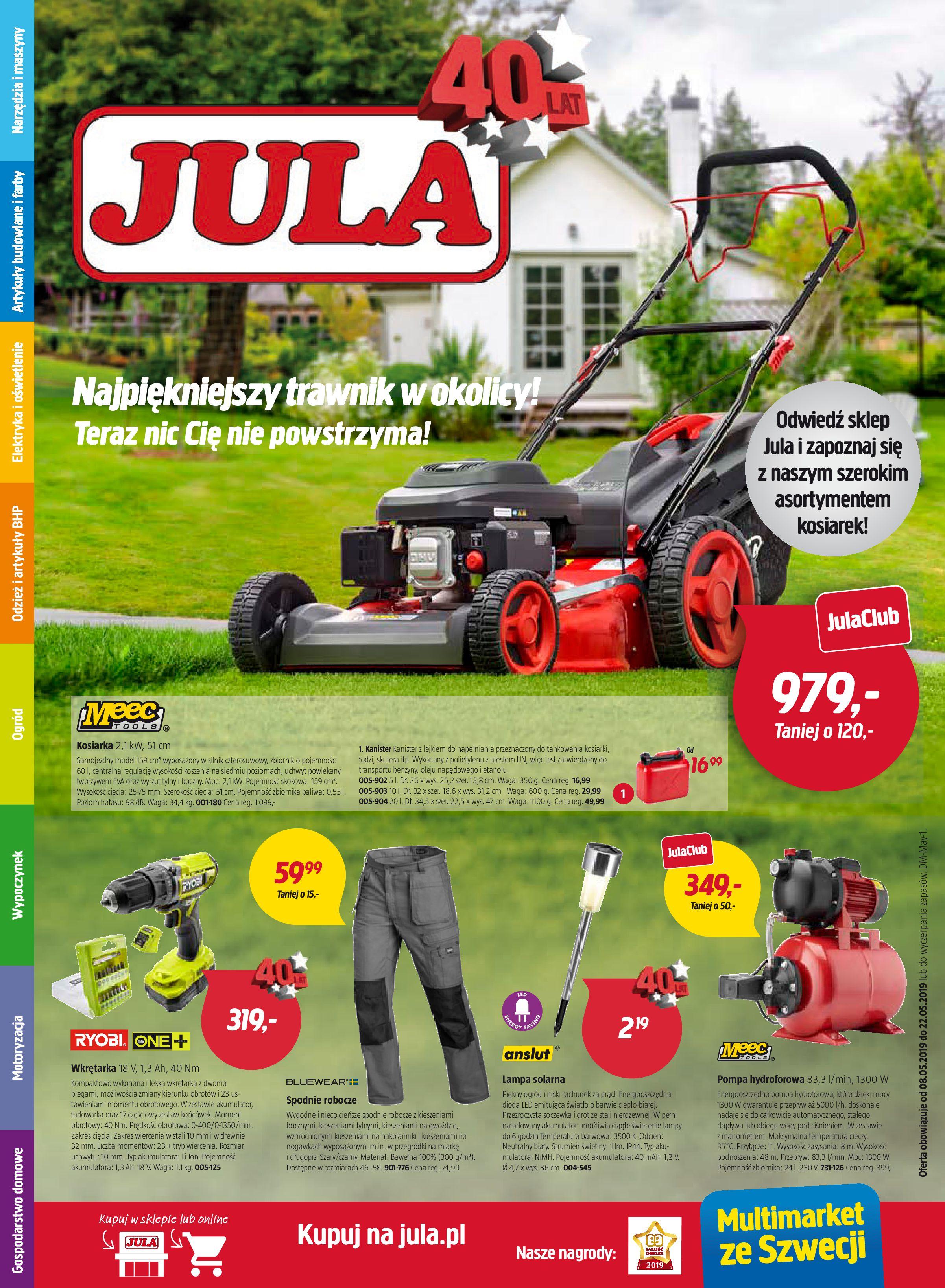 Gazetka Jula - Oferta na art. ogrodnicze-07.05.2019-22.05.2019-page-