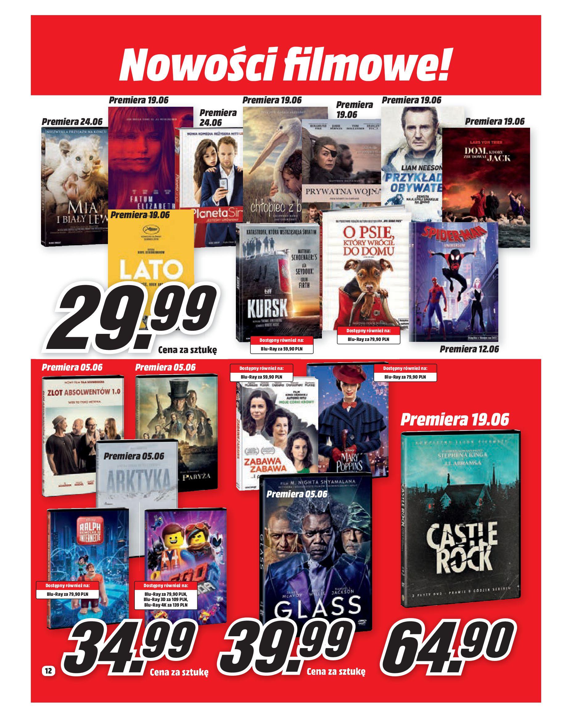 Gazetka Media Markt - Co słychać w rozrywce ?-05.06.2019-30.06.2019-page-