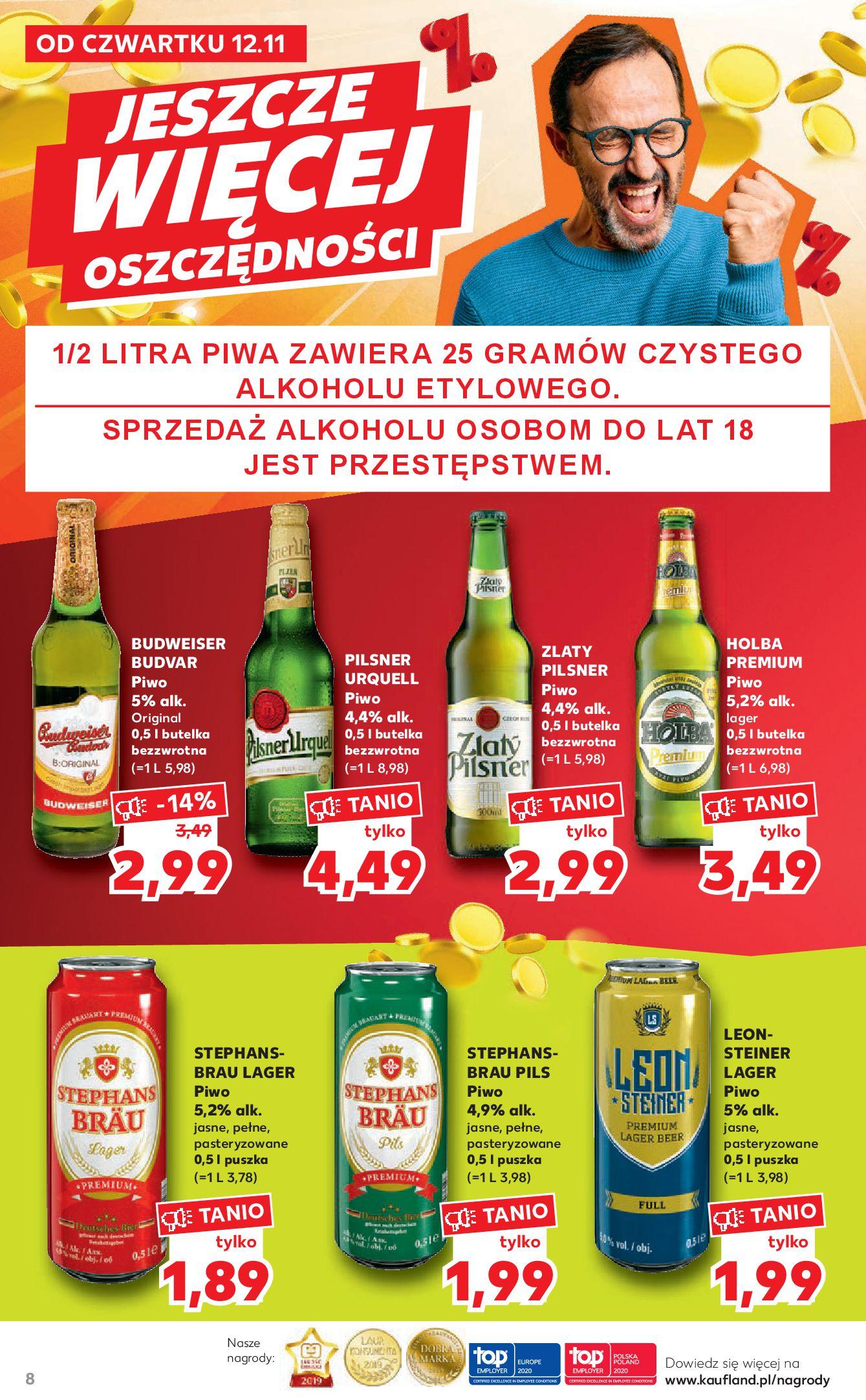 Gazetka Kaufland - Katalog MARKI-11.11.2020-25.11.2020-page-8