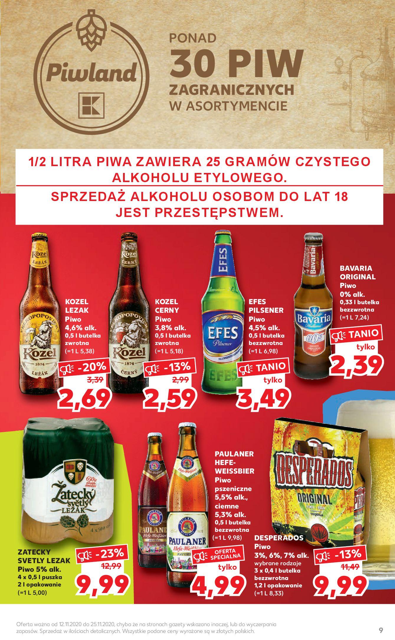 Gazetka Kaufland - Katalog MARKI-11.11.2020-25.11.2020-page-9
