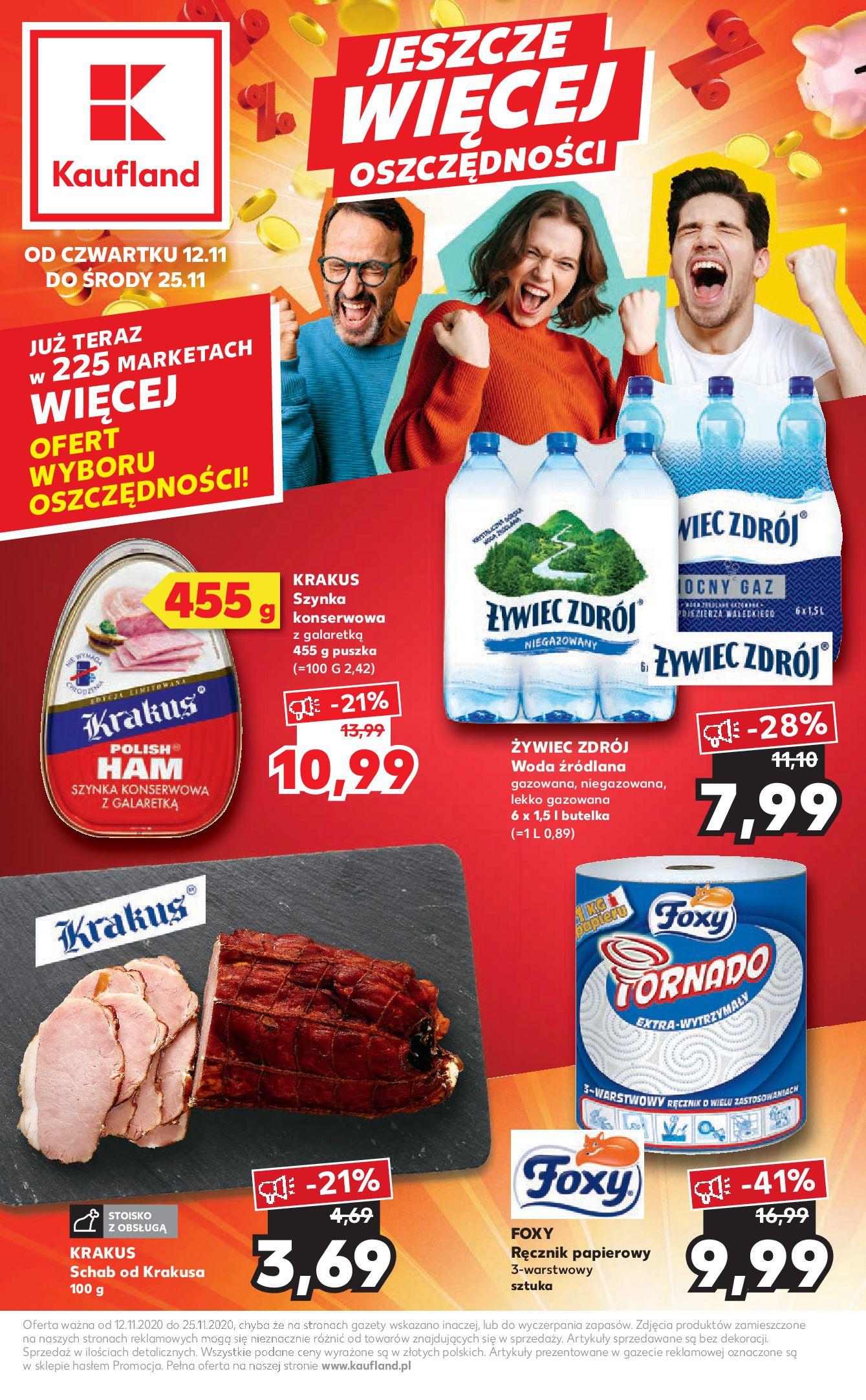 Gazetka Kaufland - Katalog MARKI-11.11.2020-25.11.2020-page-1