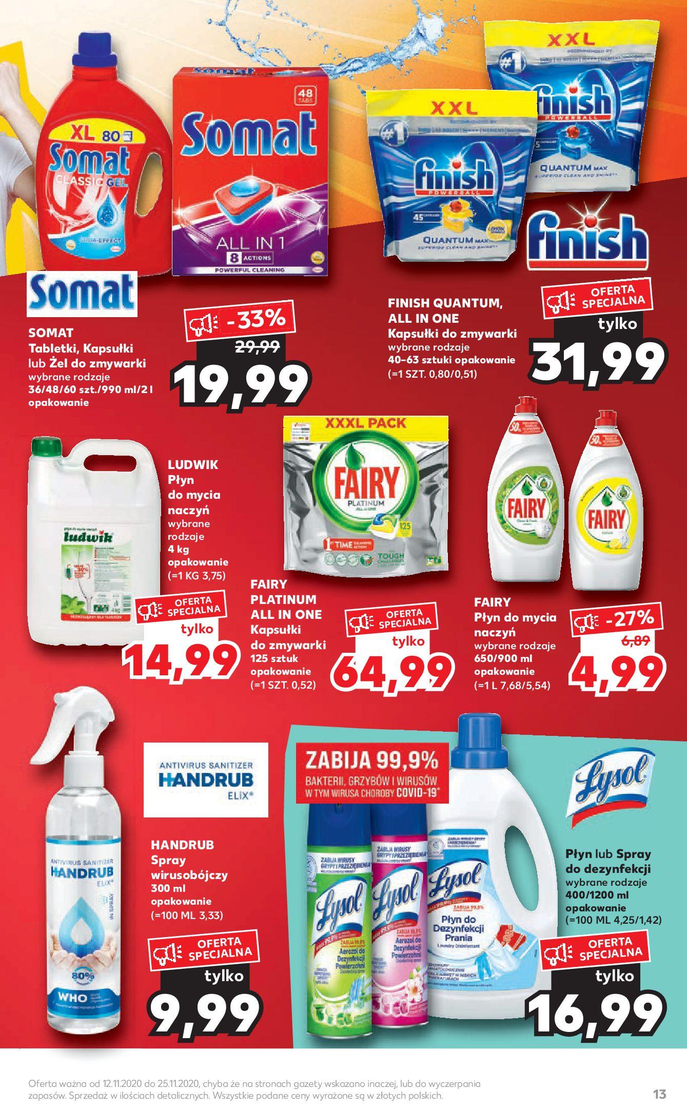 Gazetka Kaufland - Katalog MARKI-11.11.2020-25.11.2020-page-13