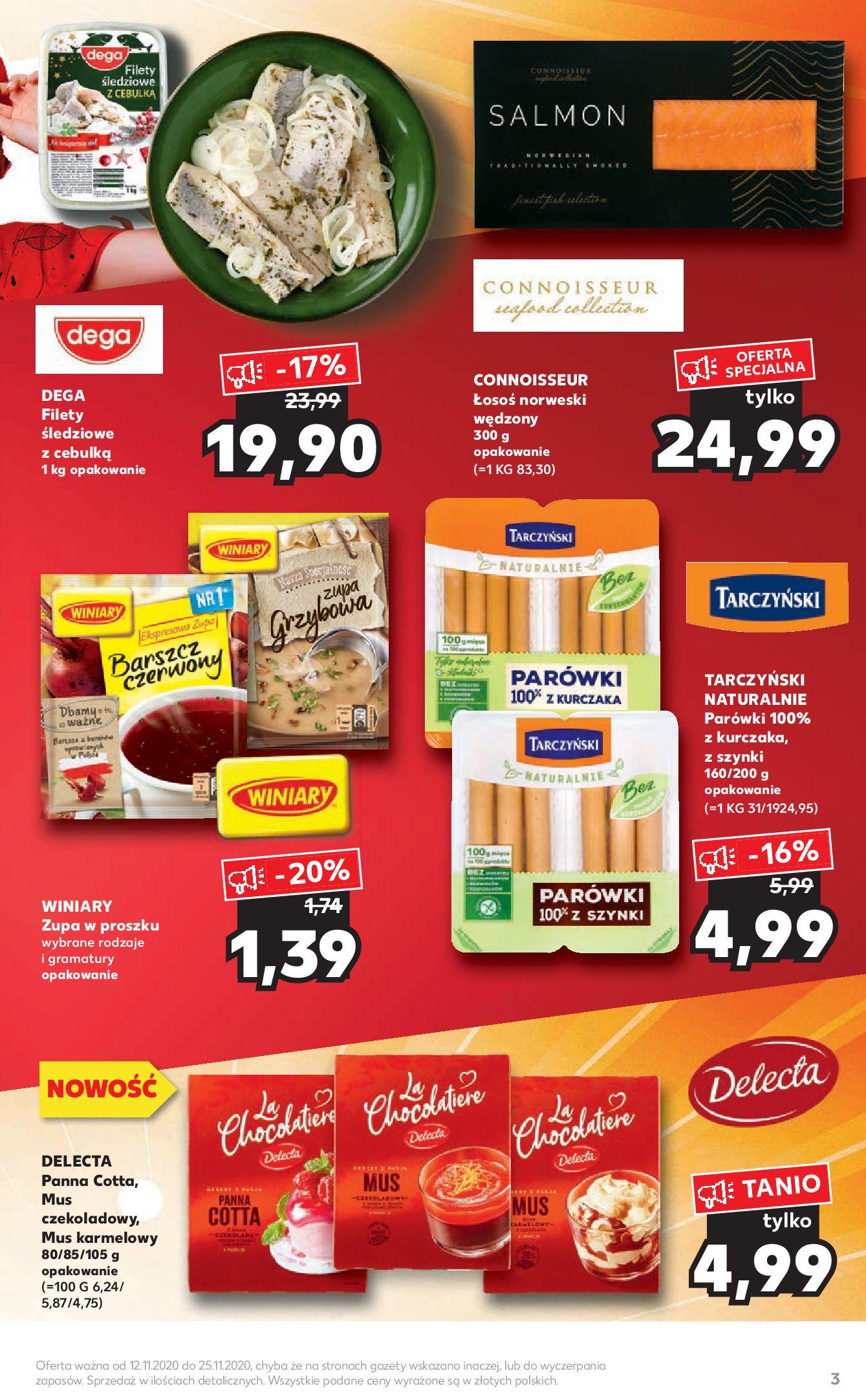 Gazetka Kaufland - Katalog MARKI-11.11.2020-25.11.2020-page-3