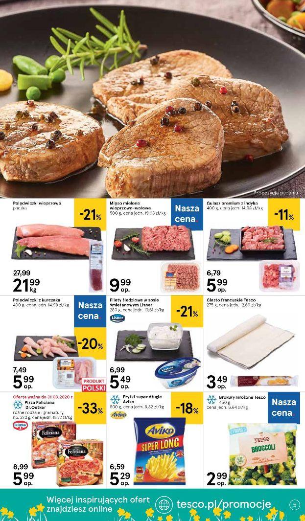 Gazetka Tesco Supermarket - Oferta promocyjna-25.03.2020-01.04.2020-page-5