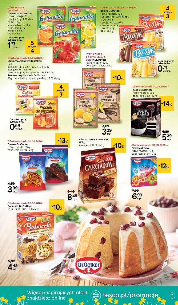 Gazetka Tesco Supermarket - Oferta promocyjna-25.03.2020-01.04.2020-page-7