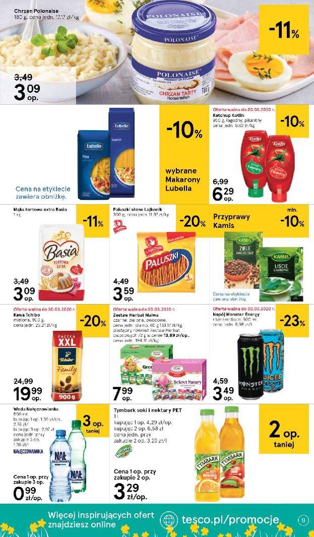 Gazetka Tesco Supermarket - Oferta promocyjna-25.03.2020-01.04.2020-page-9