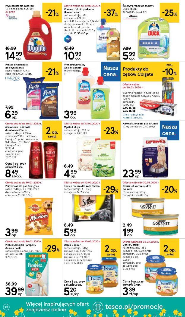 Gazetka Tesco Supermarket - Oferta promocyjna-25.03.2020-01.04.2020-page-10