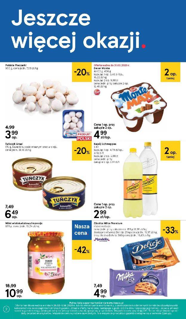 Gazetka Tesco Supermarket - Oferta promocyjna-25.03.2020-01.04.2020-page-2