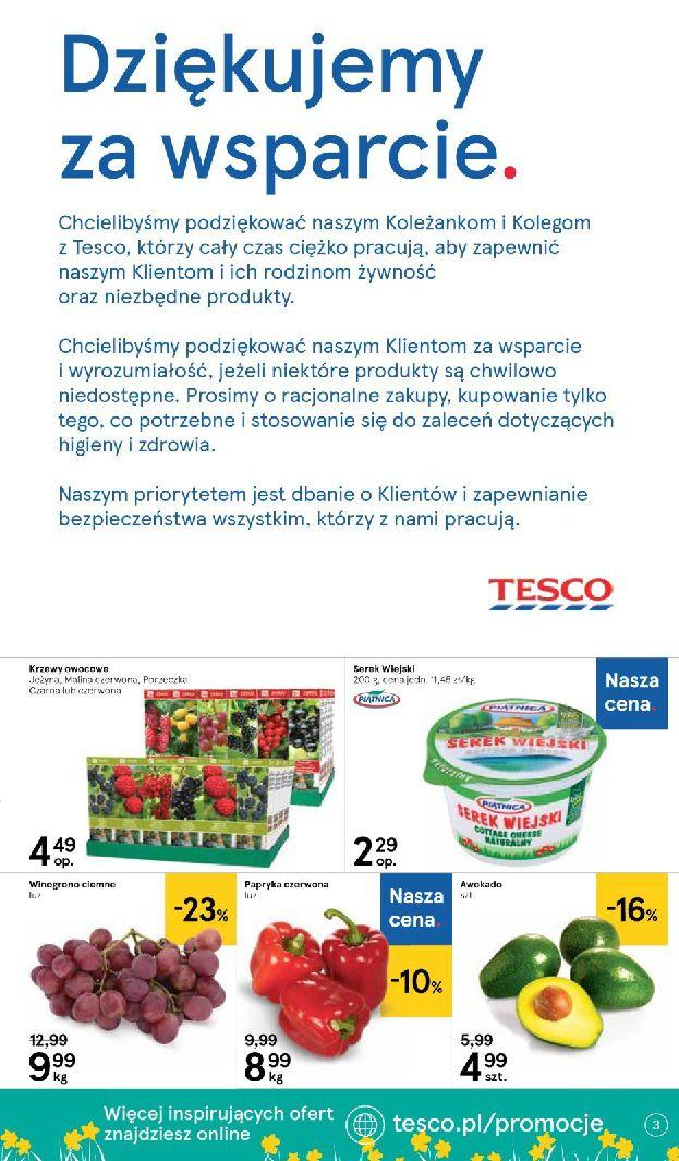 Gazetka Tesco Supermarket - Oferta promocyjna-25.03.2020-01.04.2020-page-3