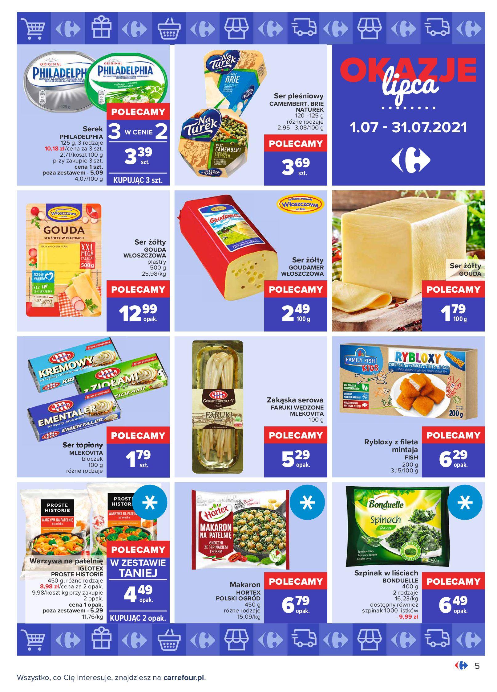 Gazetka Carrefour: Gazetka Carrefour - Okazje lipca 2021-07-01 page-5