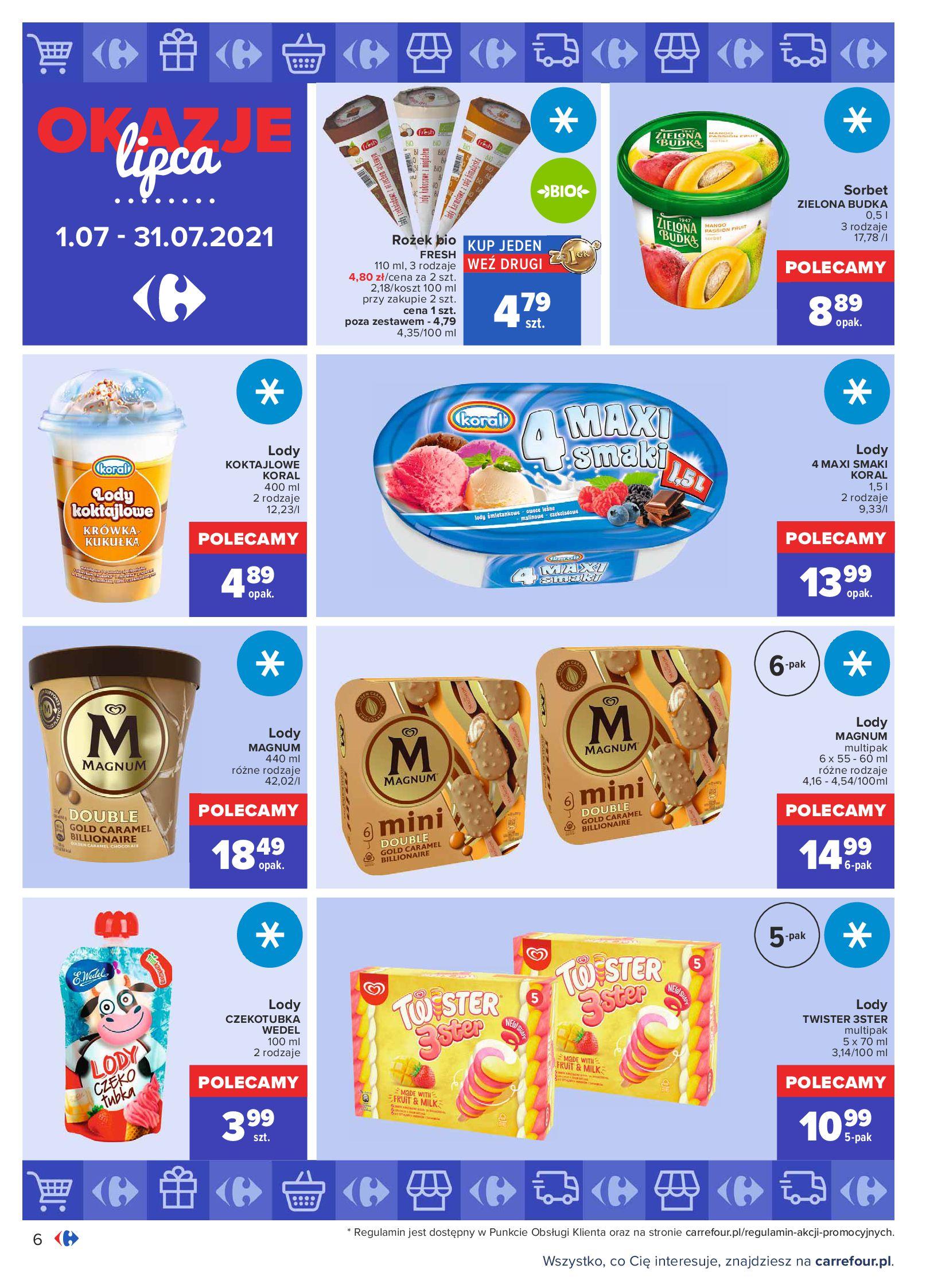 Gazetka Carrefour: Gazetka Carrefour - Okazje lipca 2021-07-01 page-6