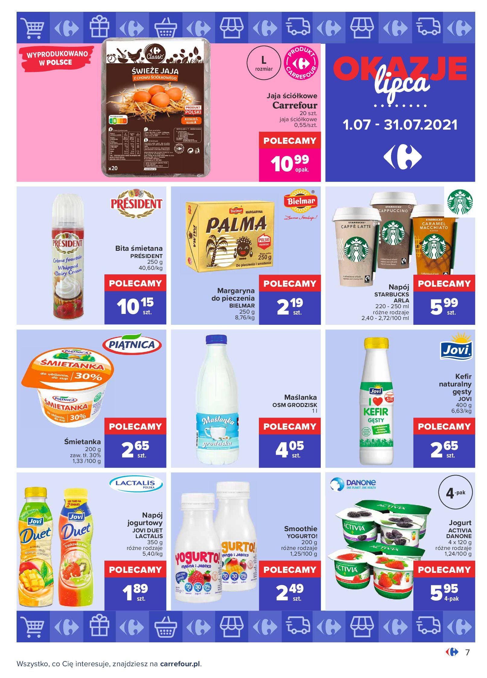 Gazetka Carrefour: Gazetka Carrefour - Okazje lipca 2021-07-01 page-7