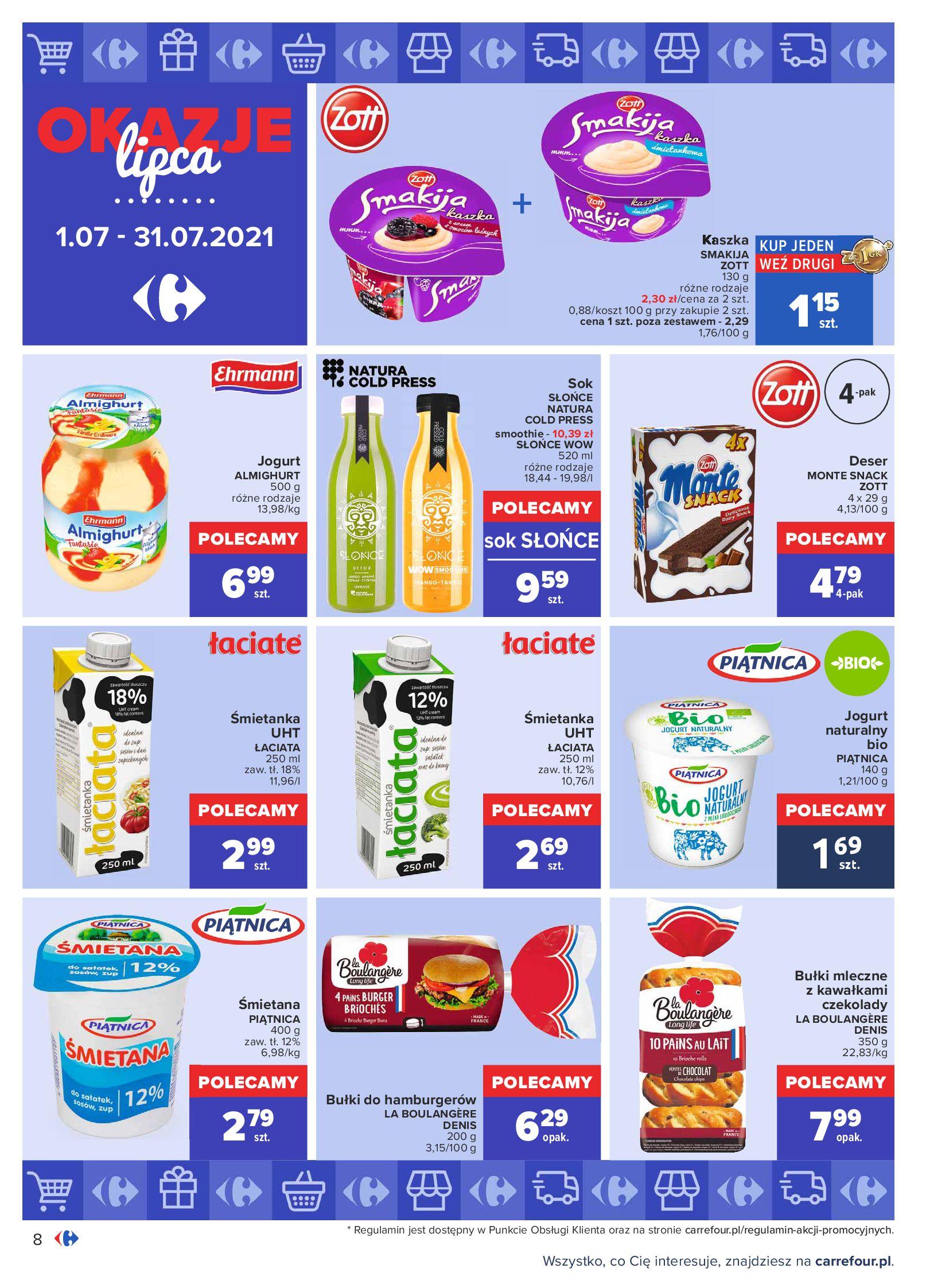 Gazetka Carrefour: Gazetka Carrefour - Okazje lipca 2021-07-01 page-8