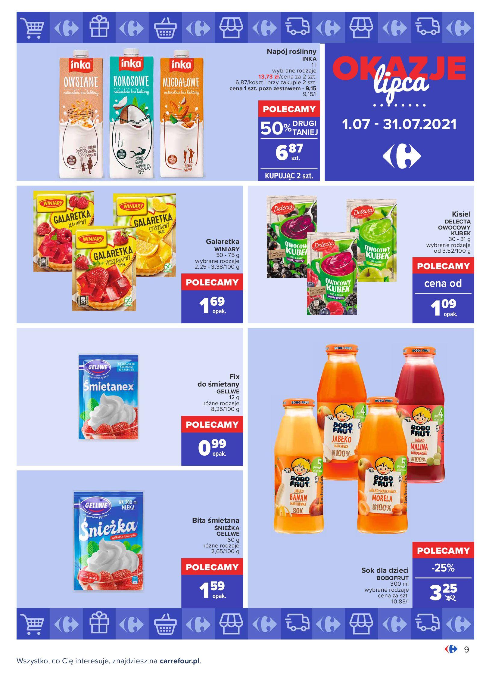 Gazetka Carrefour: Gazetka Carrefour - Okazje lipca 2021-07-01 page-9