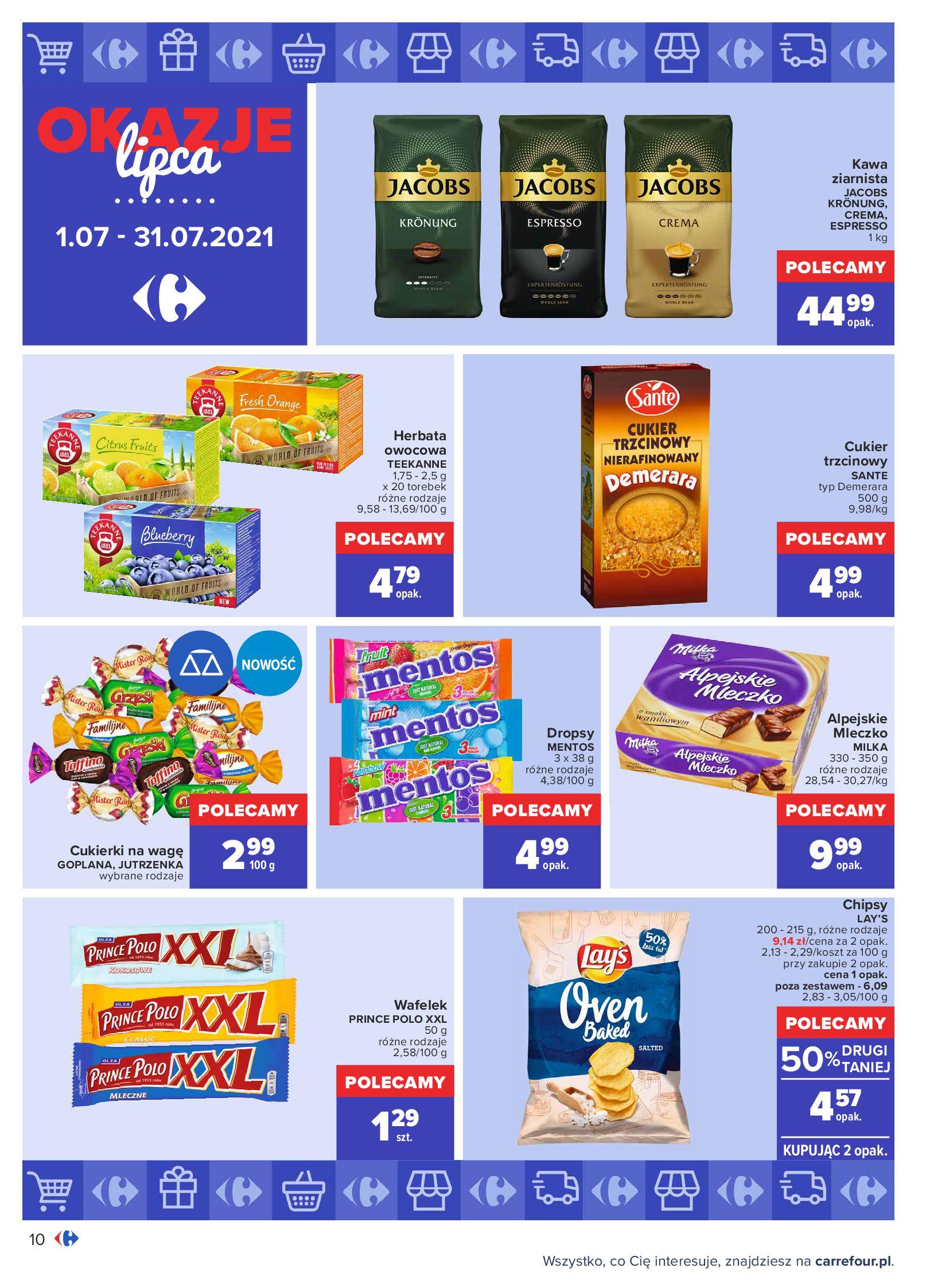 Gazetka Carrefour: Gazetka Carrefour - Okazje lipca 2021-07-01 page-10