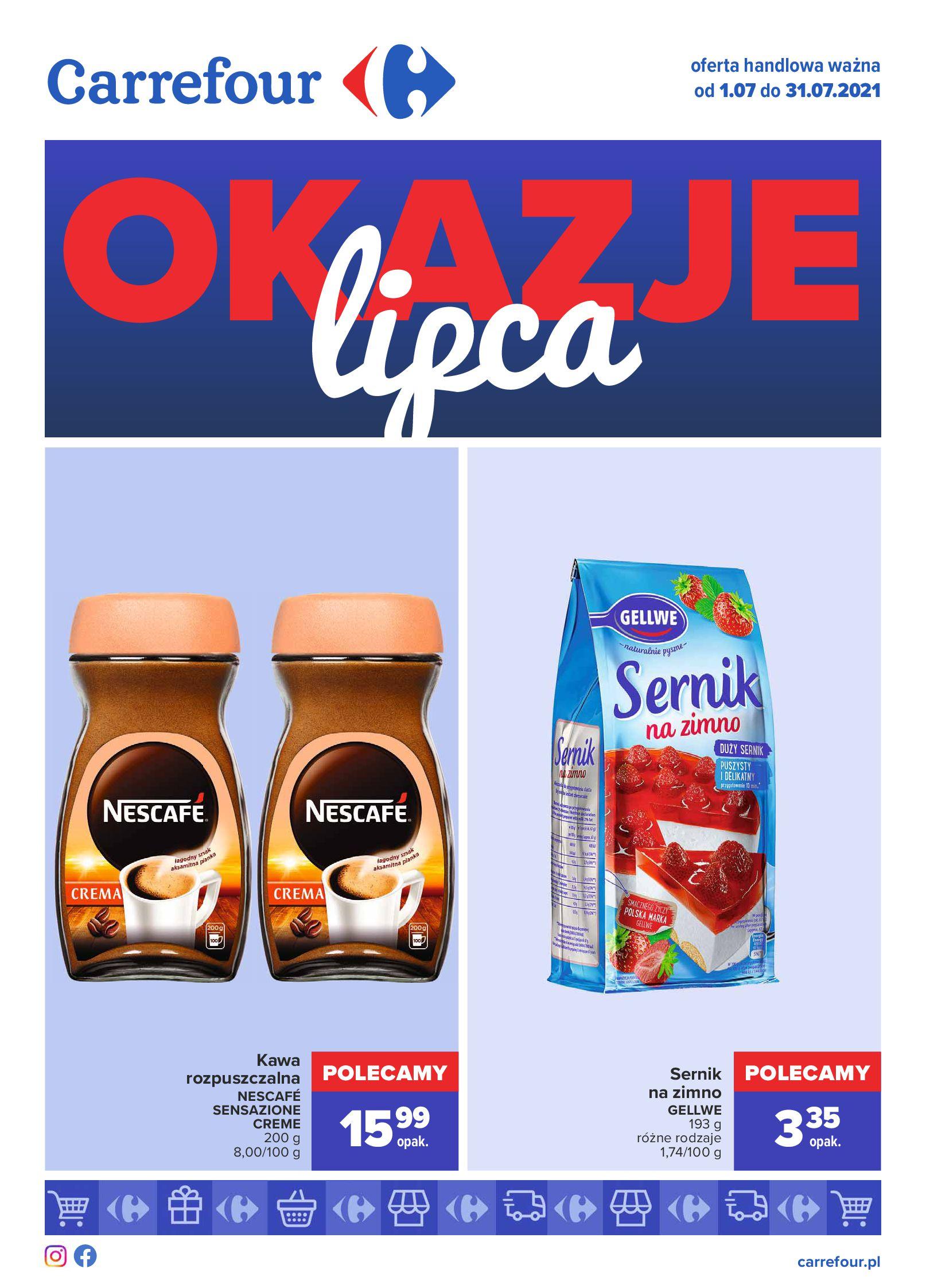 Gazetka Carrefour: Gazetka Carrefour - Okazje lipca 2021-07-01 page-1