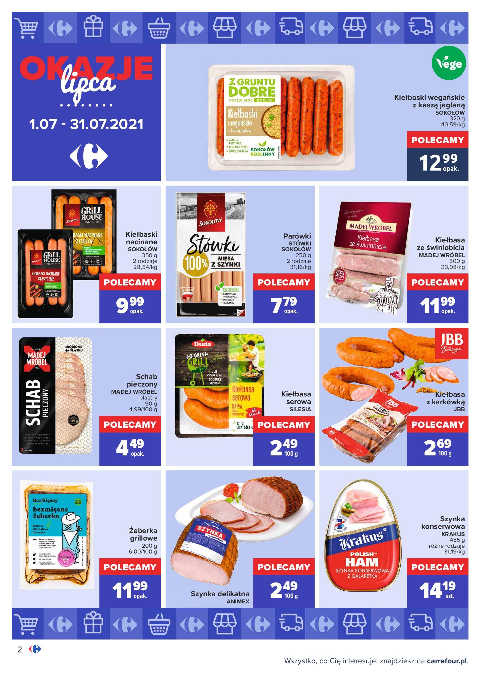 Gazetka Carrefour: Gazetka Carrefour - Okazje lipca 2021-07-01 page-2