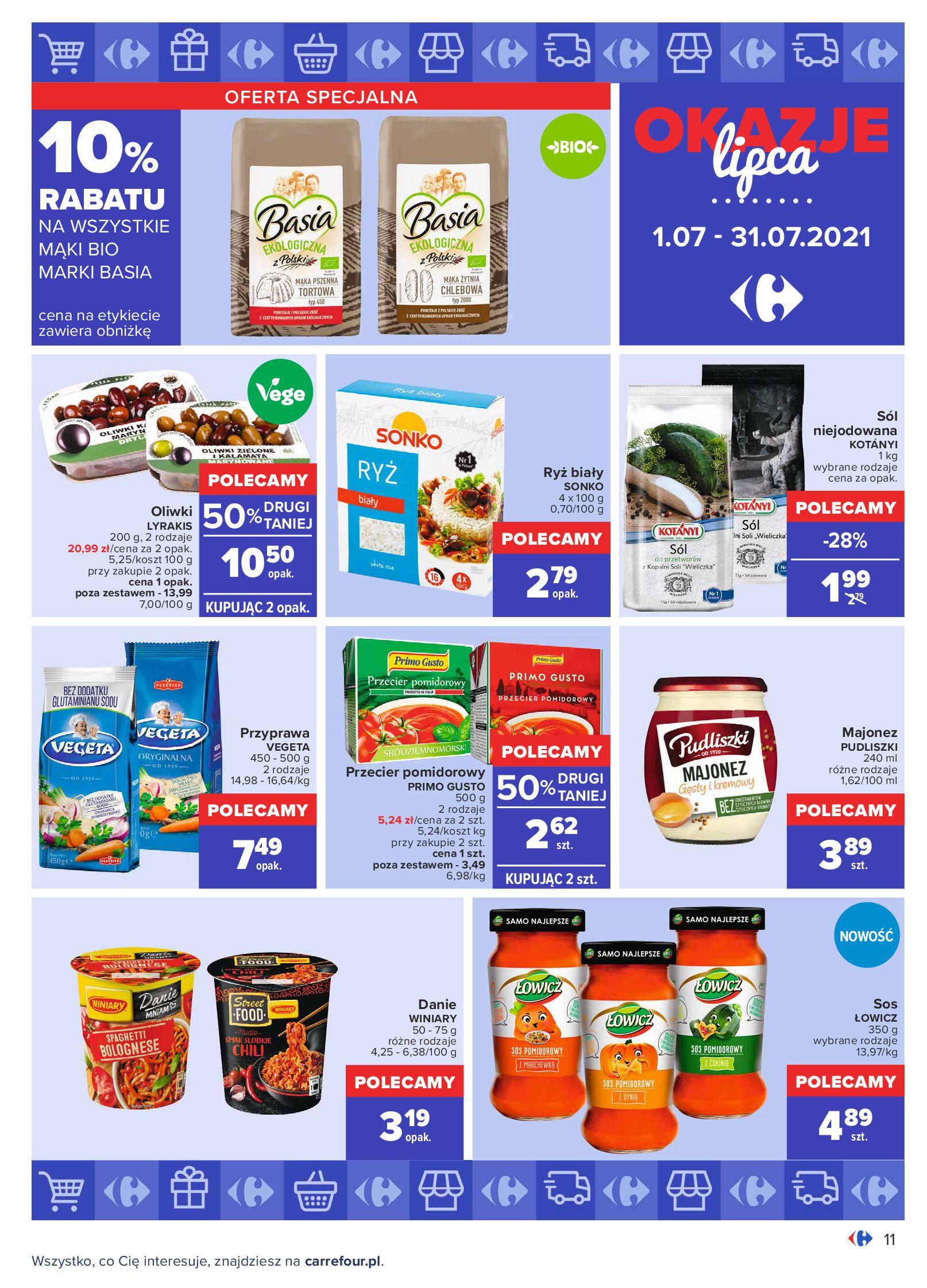 Gazetka Carrefour: Gazetka Carrefour - Okazje lipca 2021-07-01 page-11