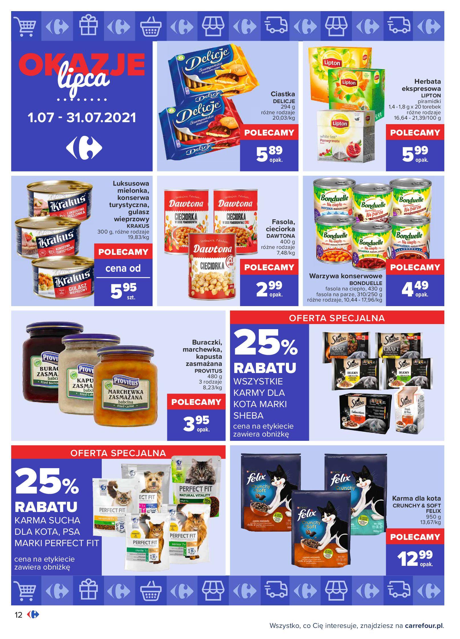 Gazetka Carrefour: Gazetka Carrefour - Okazje lipca 2021-07-01 page-12