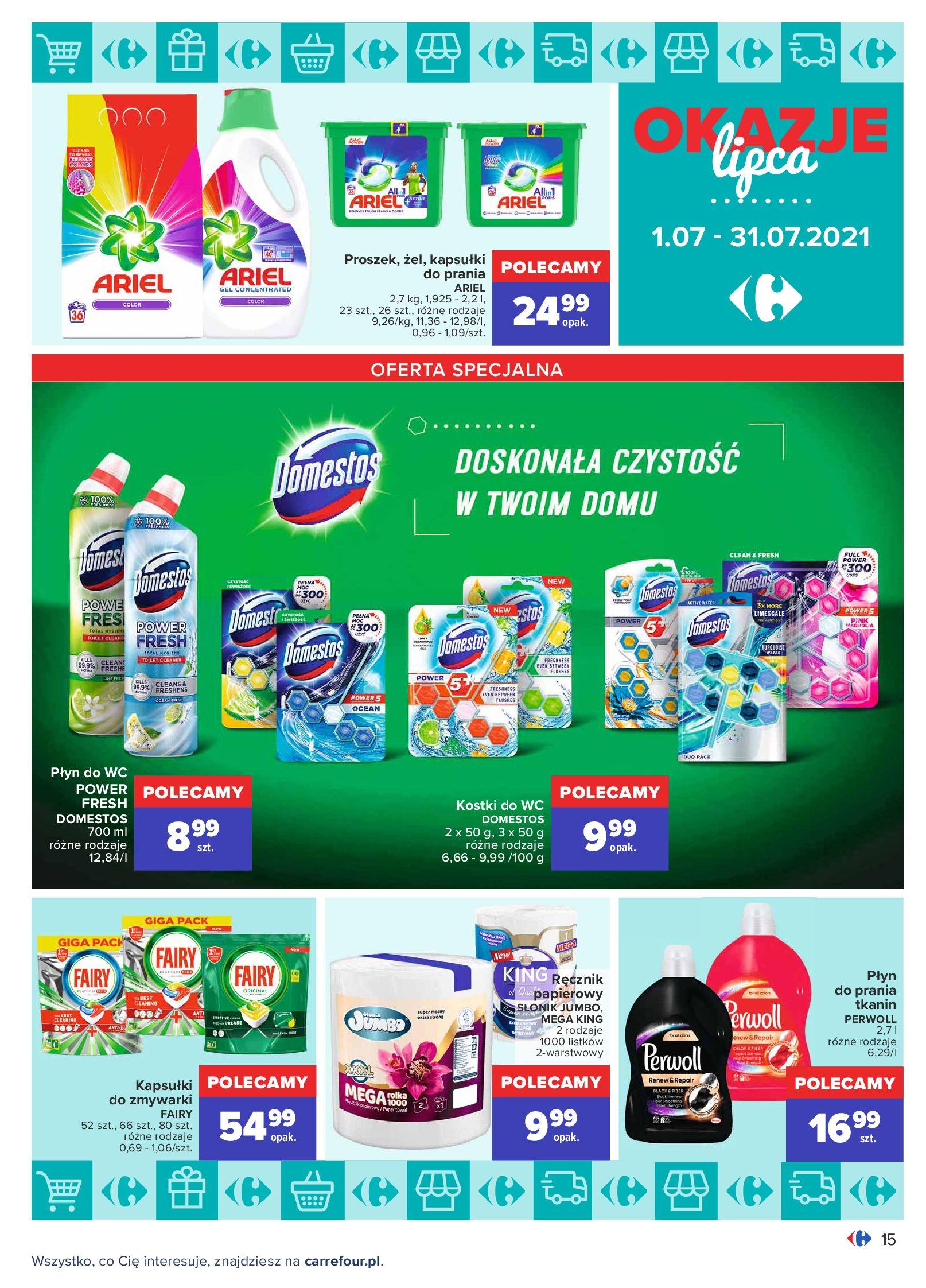 Gazetka Carrefour: Gazetka Carrefour - Okazje lipca 2021-07-01 page-15
