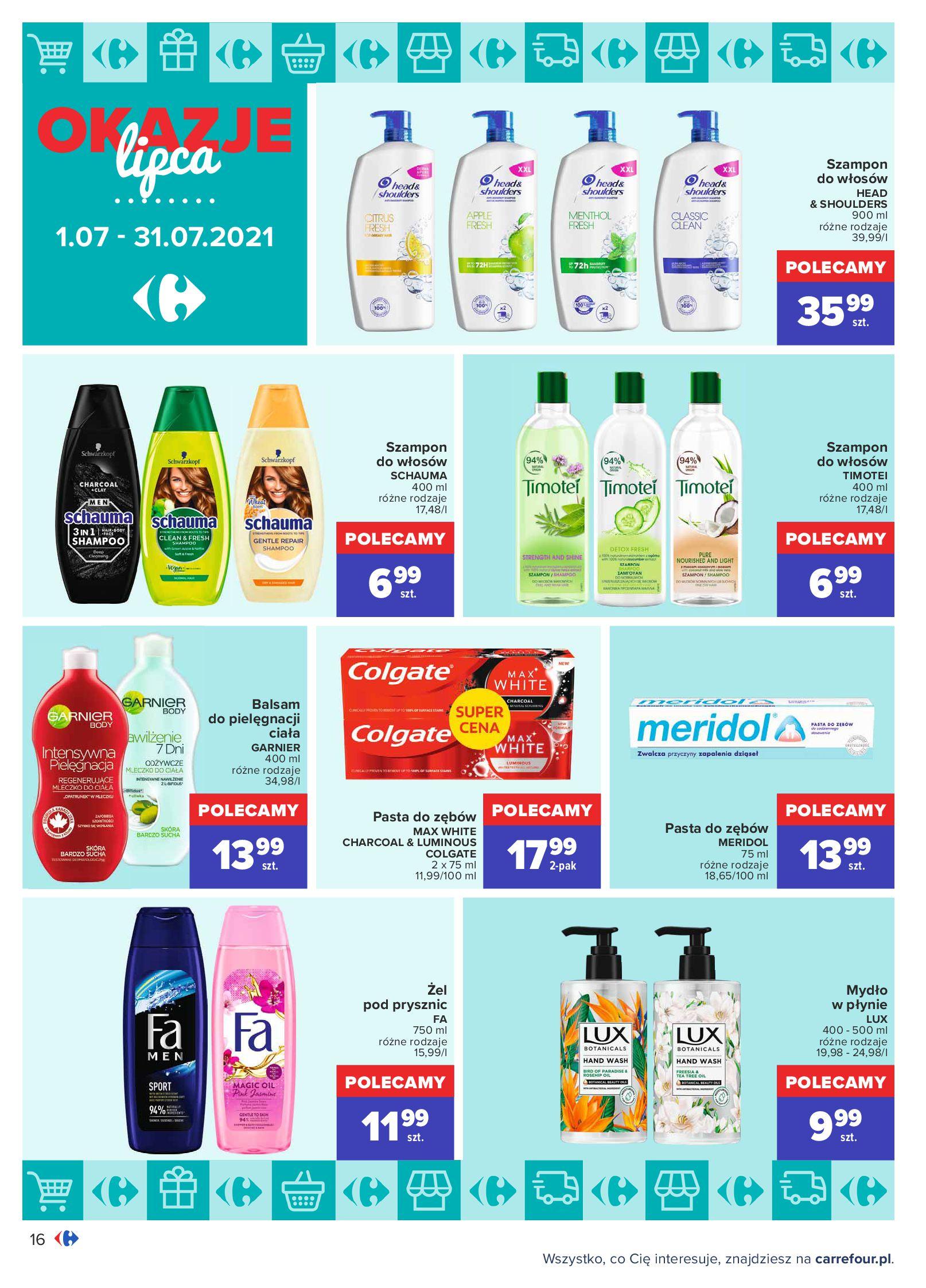 Gazetka Carrefour: Gazetka Carrefour - Okazje lipca 2021-07-01 page-16