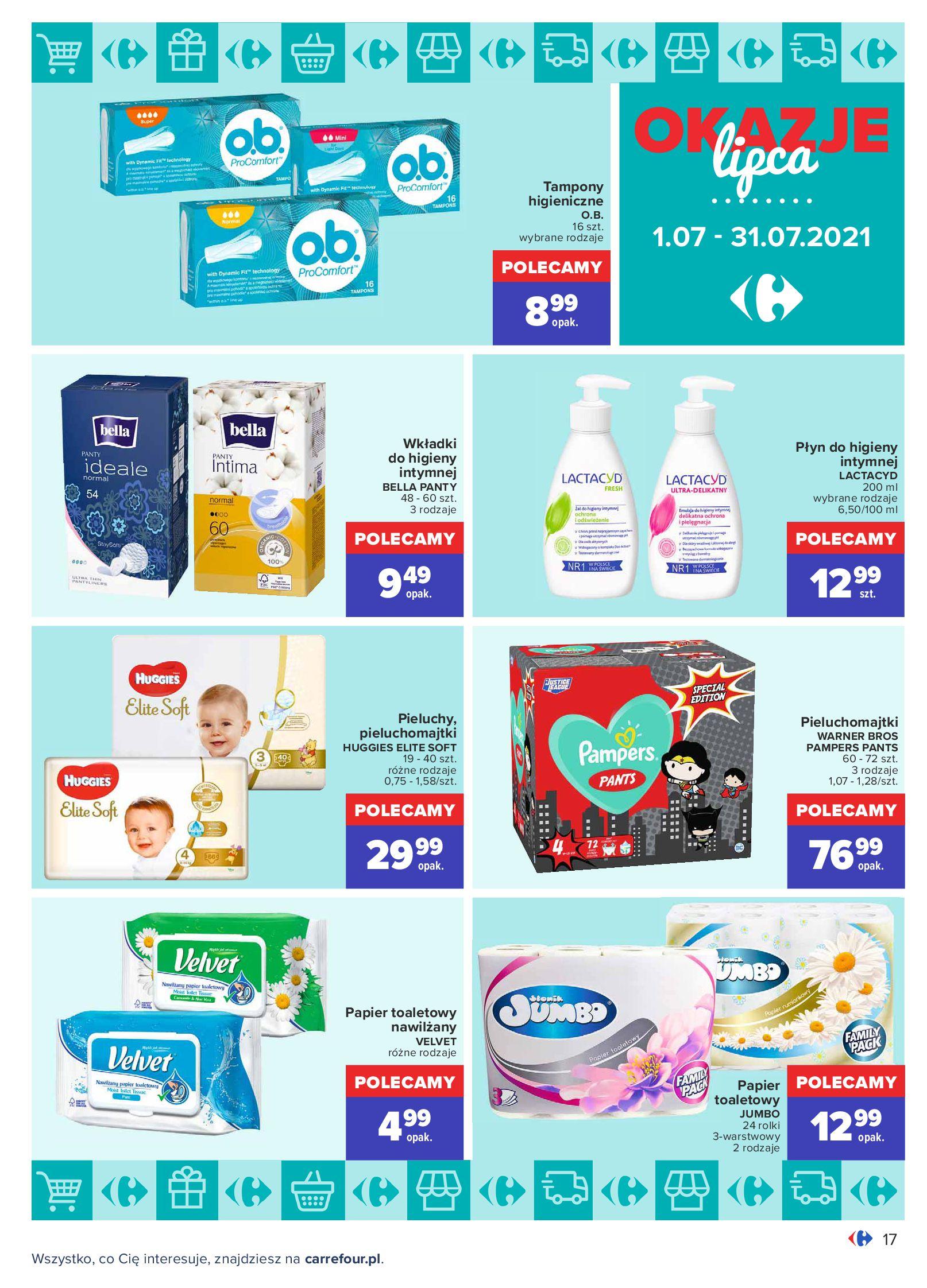 Gazetka Carrefour: Gazetka Carrefour - Okazje lipca 2021-07-01 page-17