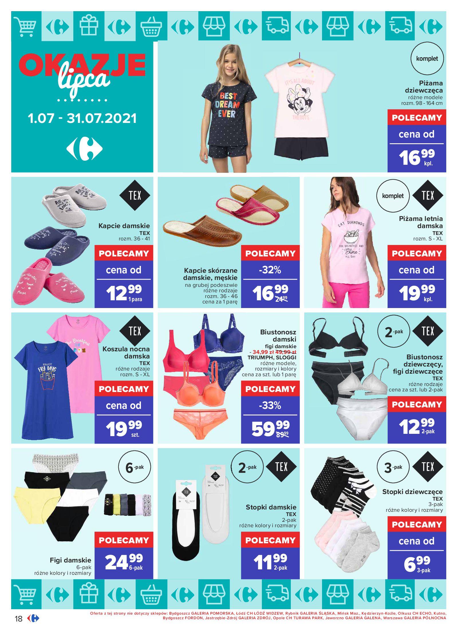 Gazetka Carrefour: Gazetka Carrefour - Okazje lipca 2021-07-01 page-18
