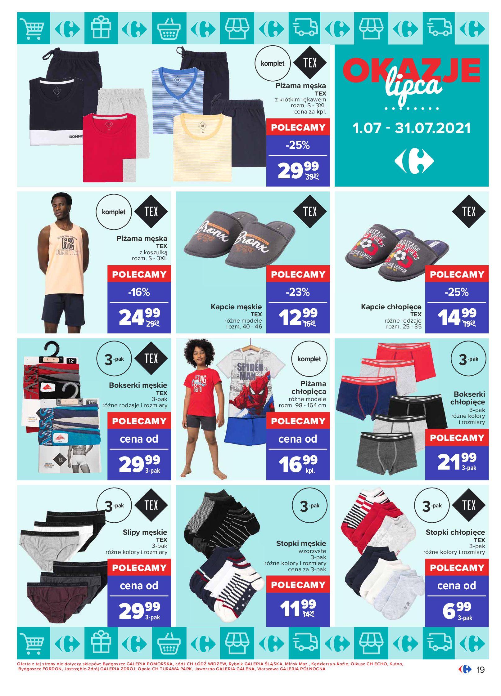 Gazetka Carrefour: Gazetka Carrefour - Okazje lipca 2021-07-01 page-19