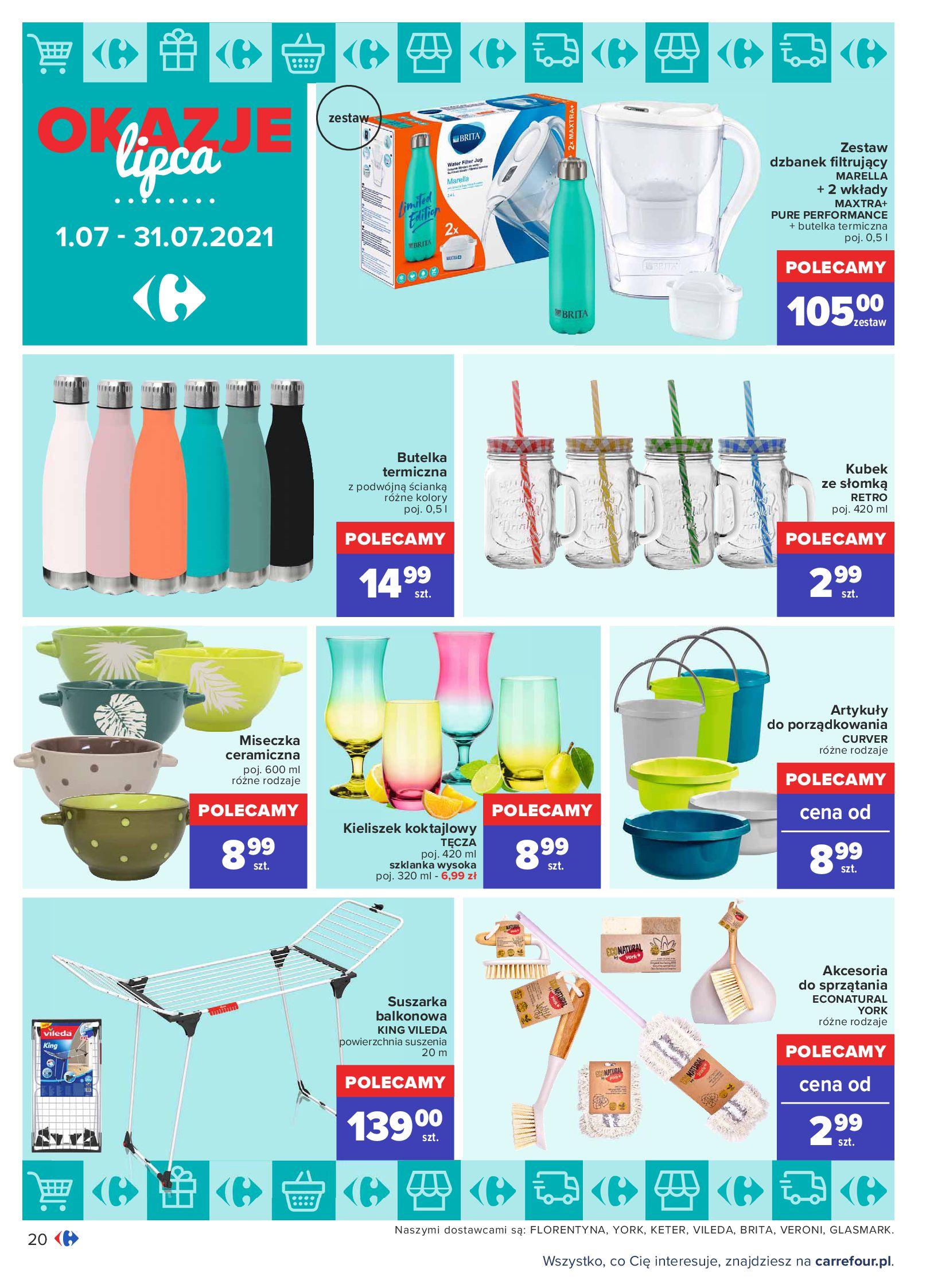 Gazetka Carrefour: Gazetka Carrefour - Okazje lipca 2021-07-01 page-20