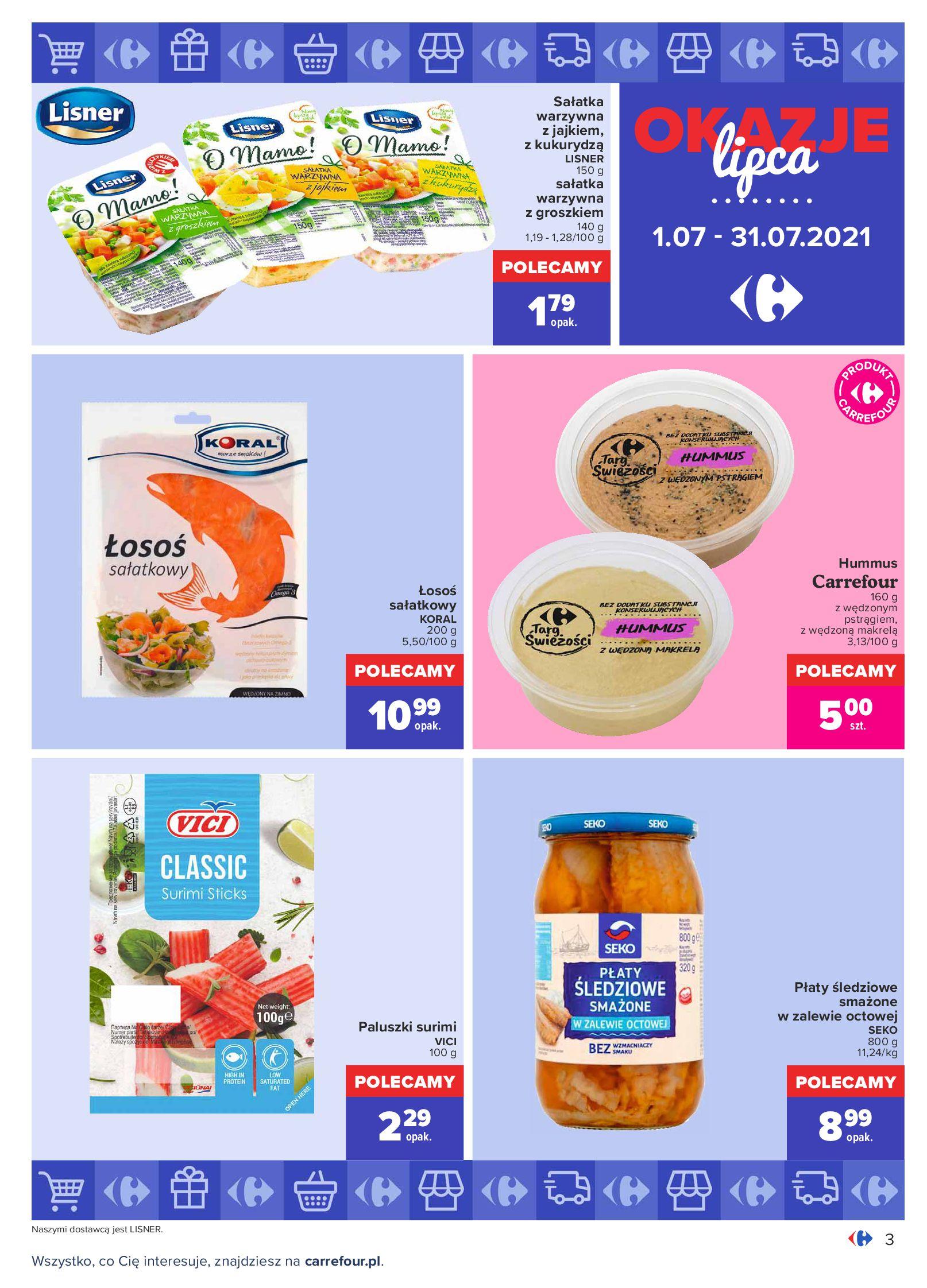 Gazetka Carrefour: Gazetka Carrefour - Okazje lipca 2021-07-01 page-3