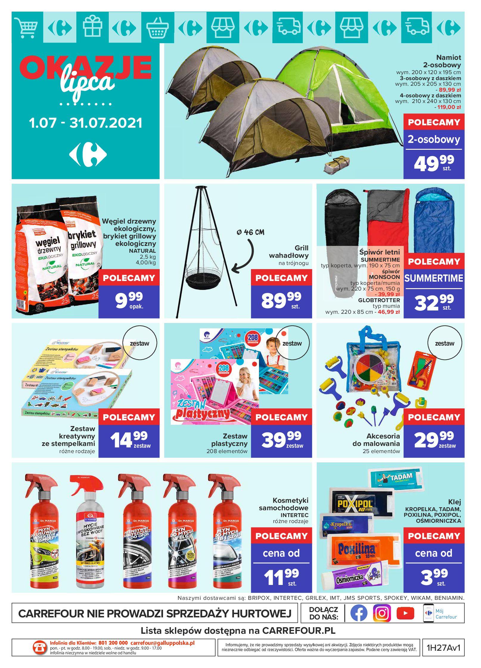 Gazetka Carrefour: Gazetka Carrefour - Okazje lipca 2021-07-01 page-22