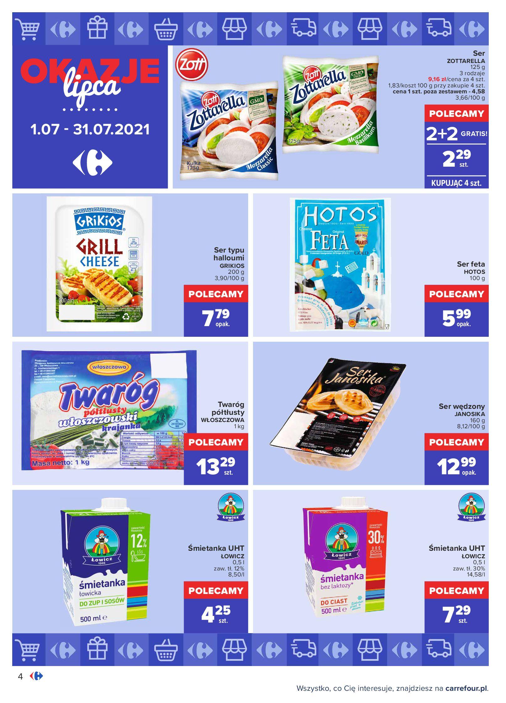 Gazetka Carrefour: Gazetka Carrefour - Okazje lipca 2021-07-01 page-4