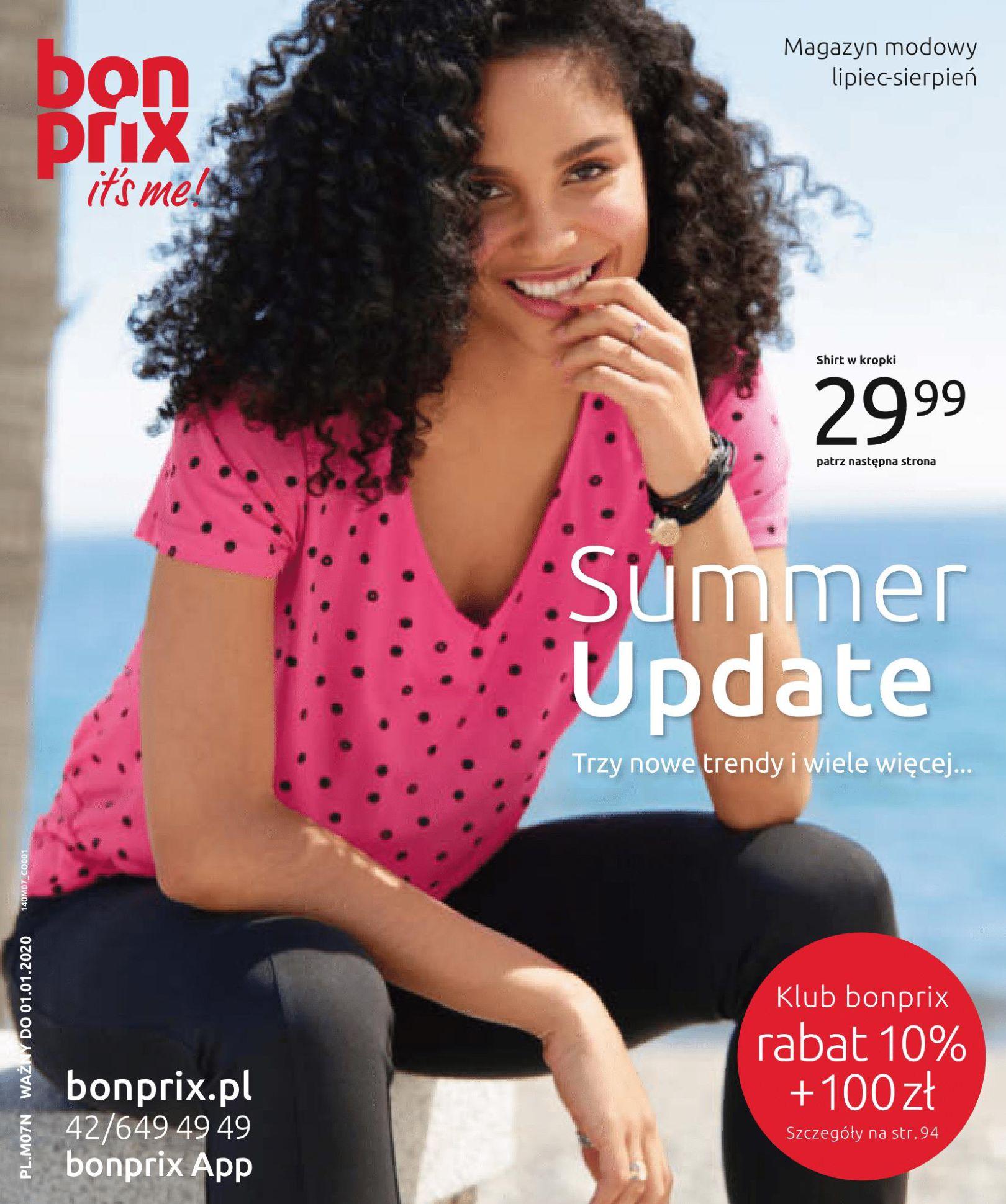 Gazetka Bonprix - Summer Update-02.07.2019-01.01.2020-page-1