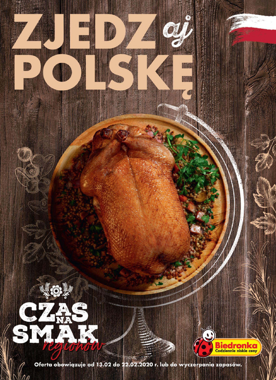 Gazetka Biedronka - ZJEDZaj POLSKĘ-12.02.2020-22.02.2020-page-1