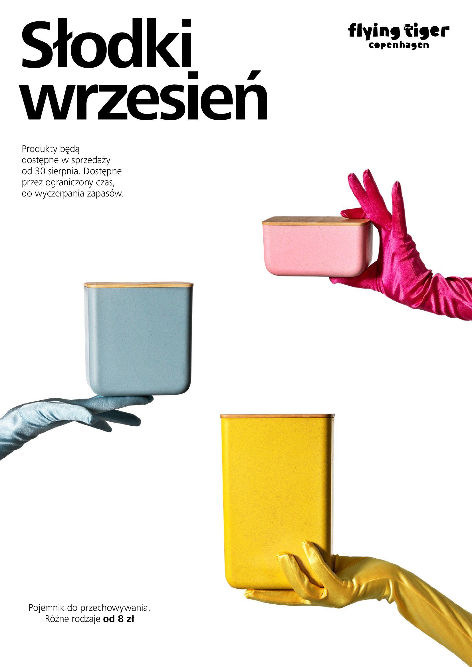 Gazetka Flying tiger - Słodki wrzesień-04.09.2019-27.09.2019-page-1