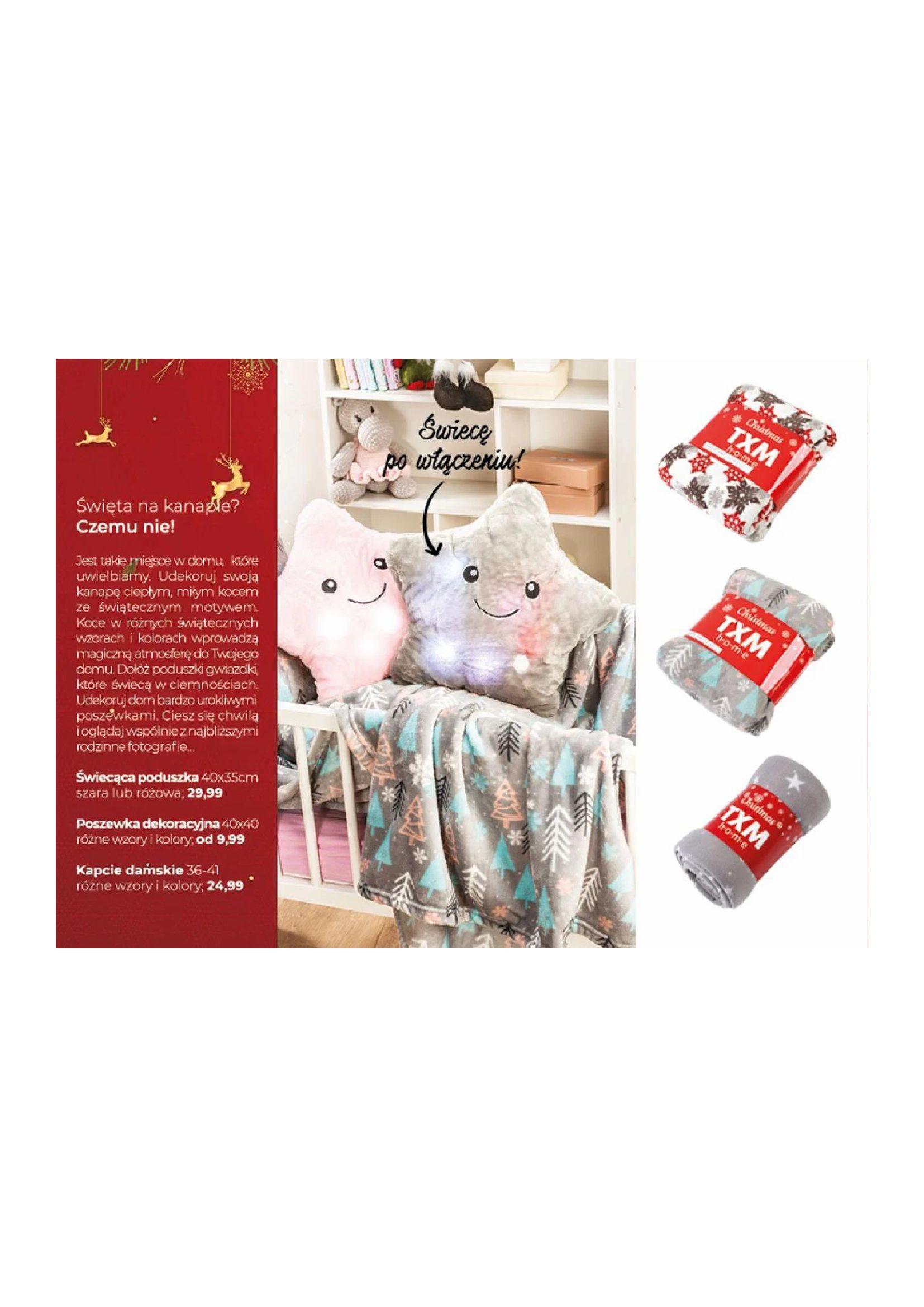 Gazetka TXM textilmarket: Katalog Świąteczny 2020-11-10 page-10