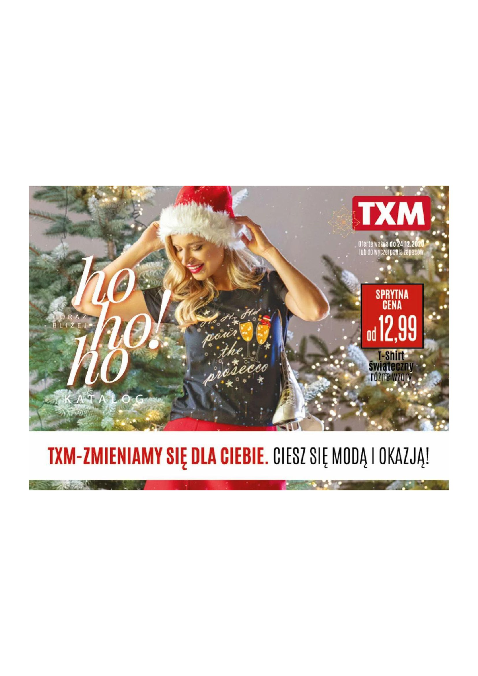 TXM textilmarket:  Katalog Świąteczny 09.11.2020