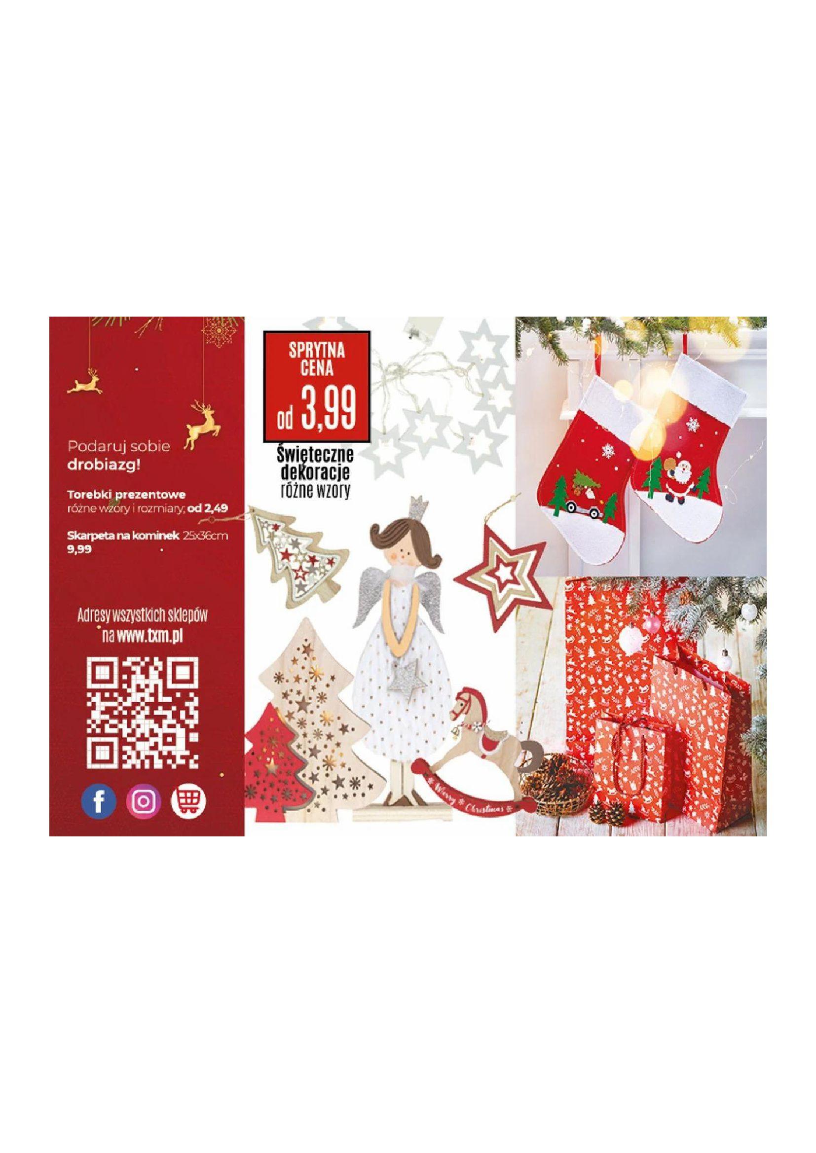 Gazetka TXM textilmarket: Katalog Świąteczny 2020-11-10 page-16