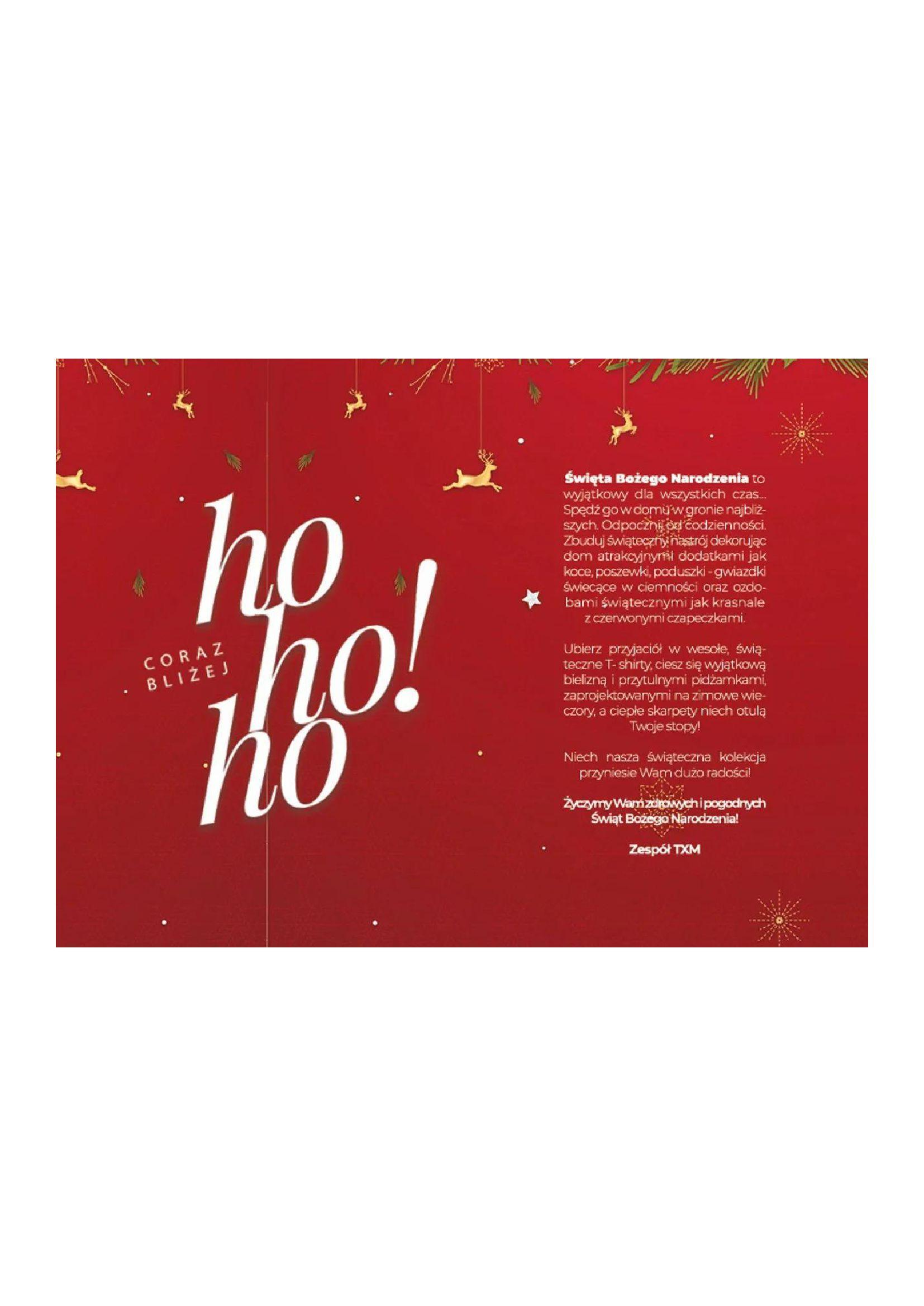 Gazetka TXM textilmarket: Katalog Świąteczny 2020-11-10 page-3