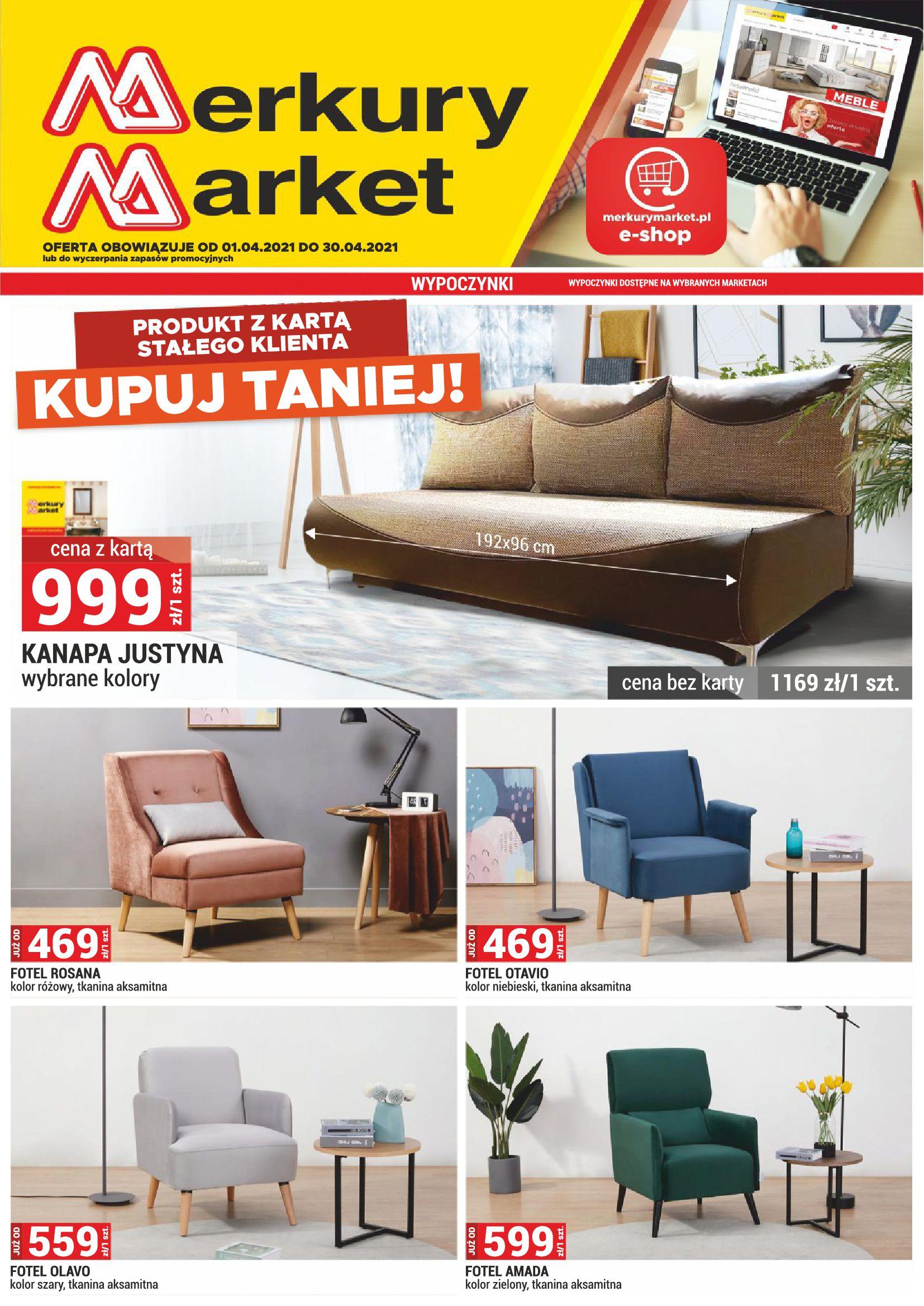 Gazetka Merkurymarket.pl: Gazetka promocyjna 2021-04-01 page-1