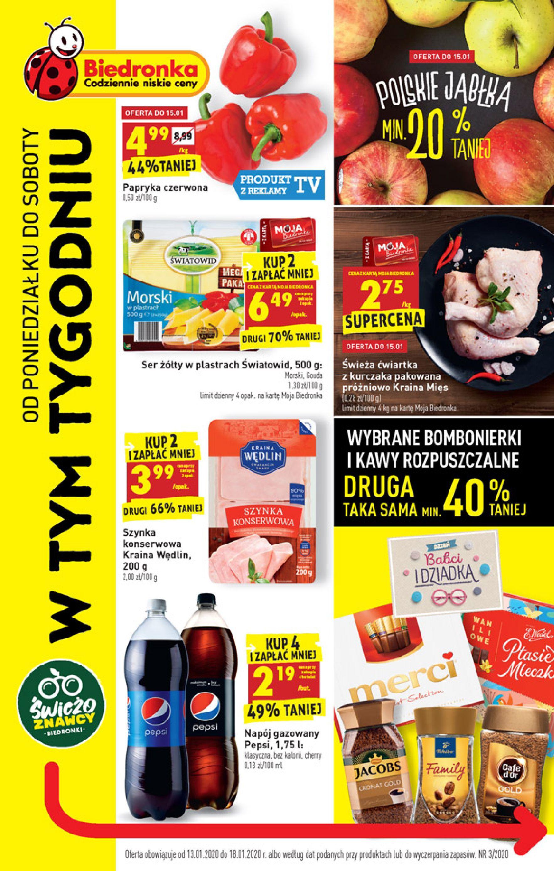 Gazetka Biedronka - W tym tygodniu-12.01.2020-18.01.2020-page-1