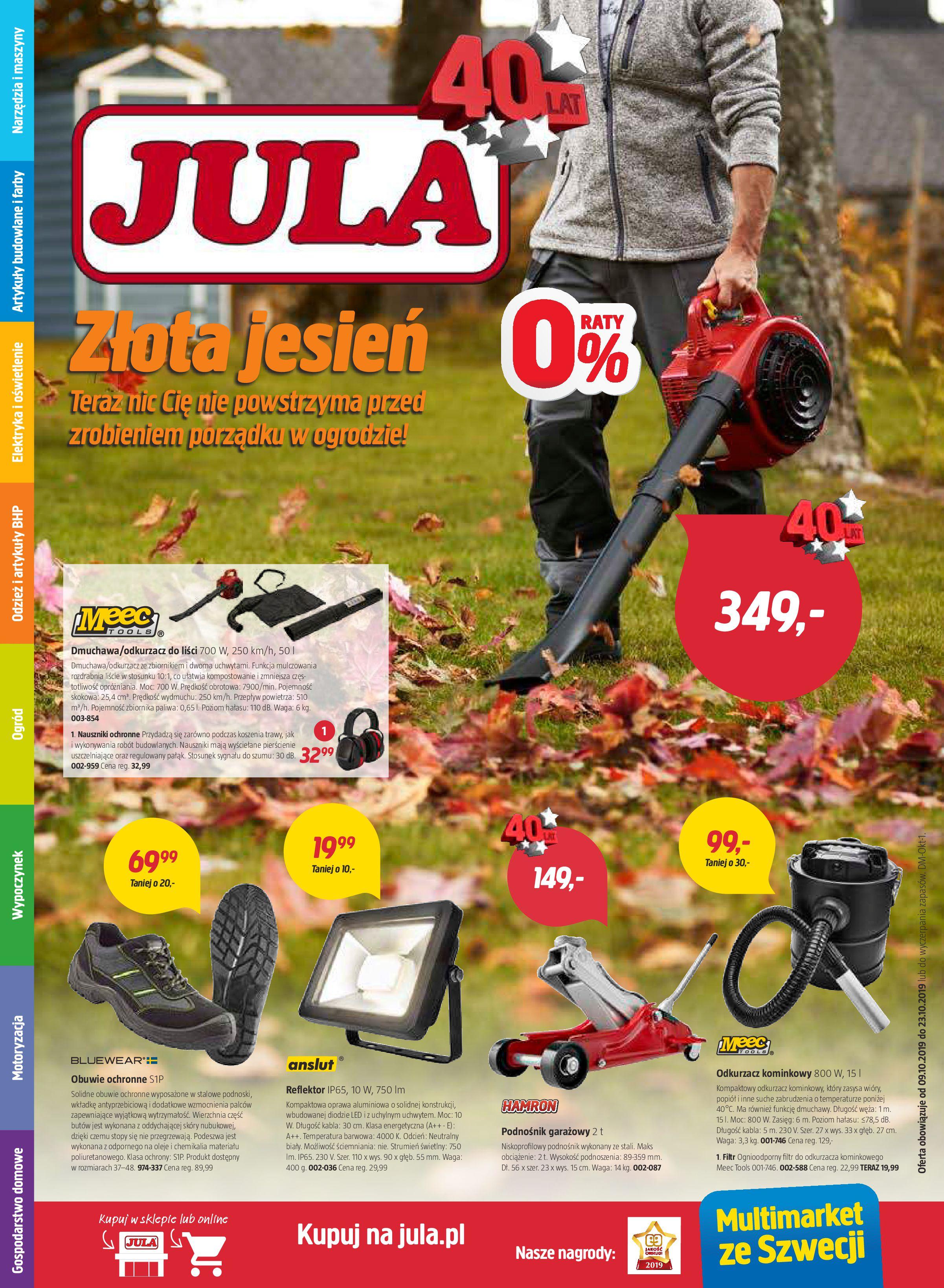 Gazetka Jula - Złota jesień-09.10.2019-23.10.2019-page-