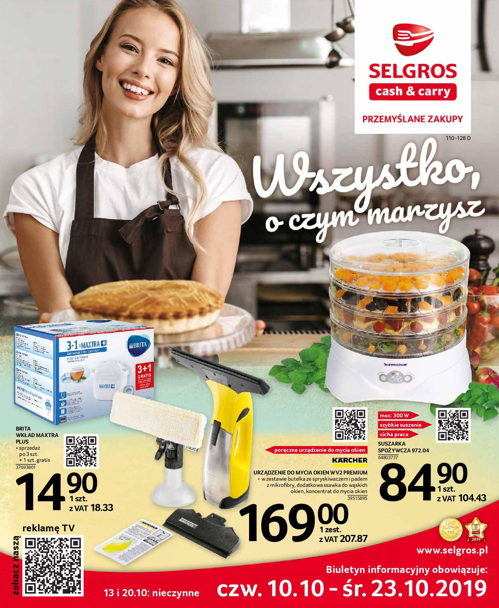 Gazetka Selgros - Oferta przemysłowa-09.10.2019-23.10.2019-page-