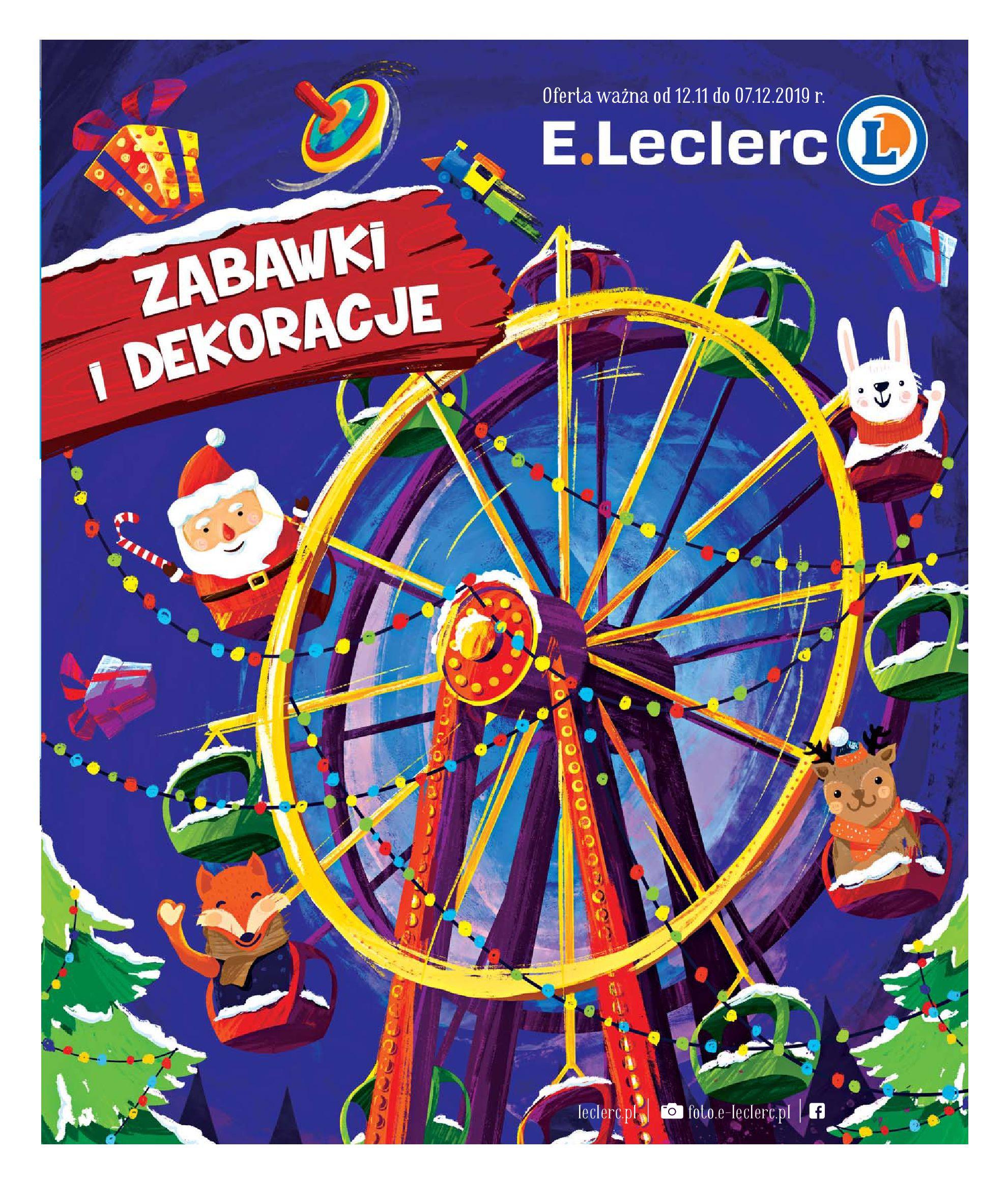 Gazetka E.Leclerc - Oferta promocyjna-14.11.2019-07.12.2019-page-1