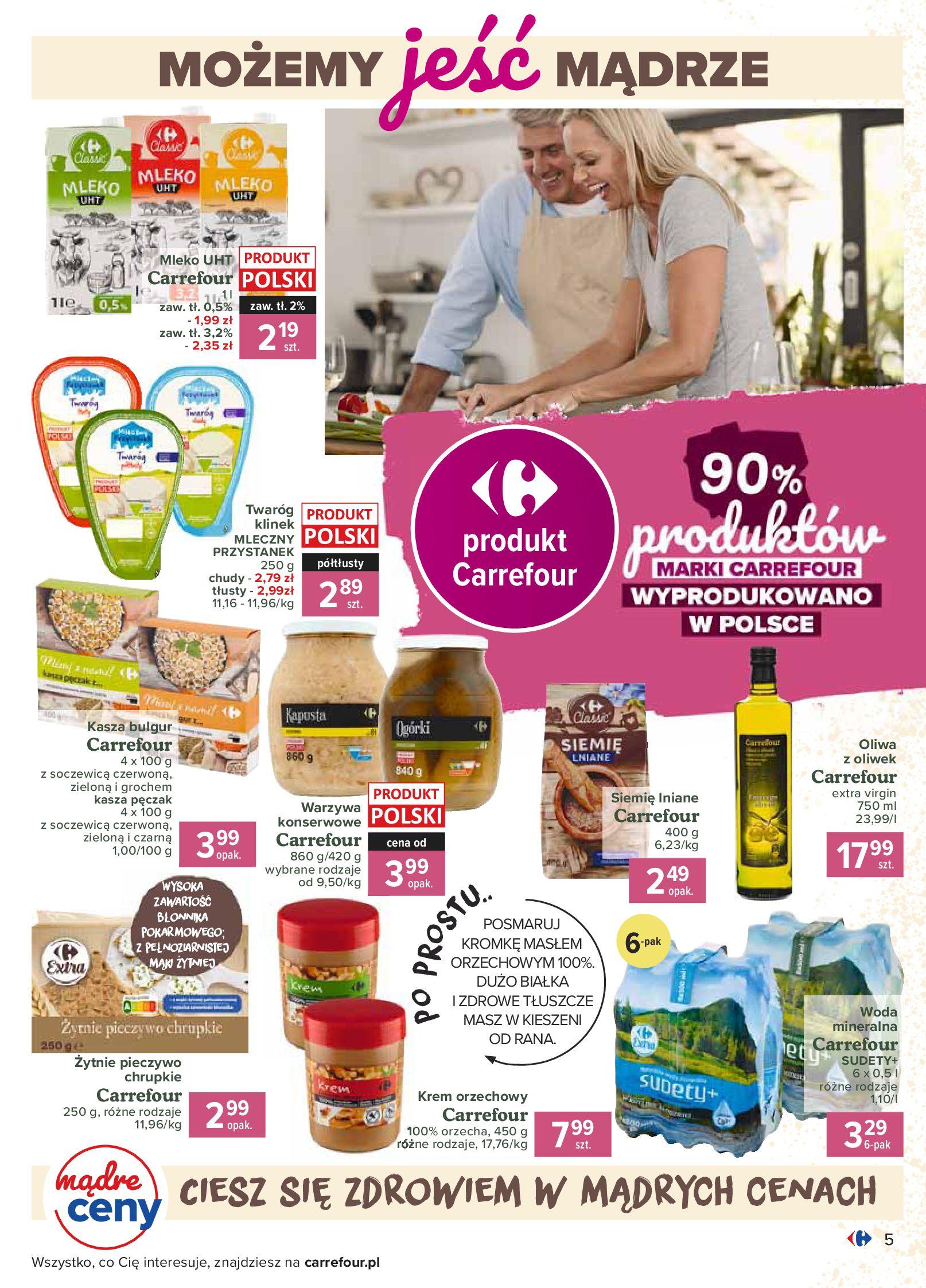 Gazetka Carrefour - Katalog - Możemy jeść mądrze-29.06.2020-18.07.2020-page-5