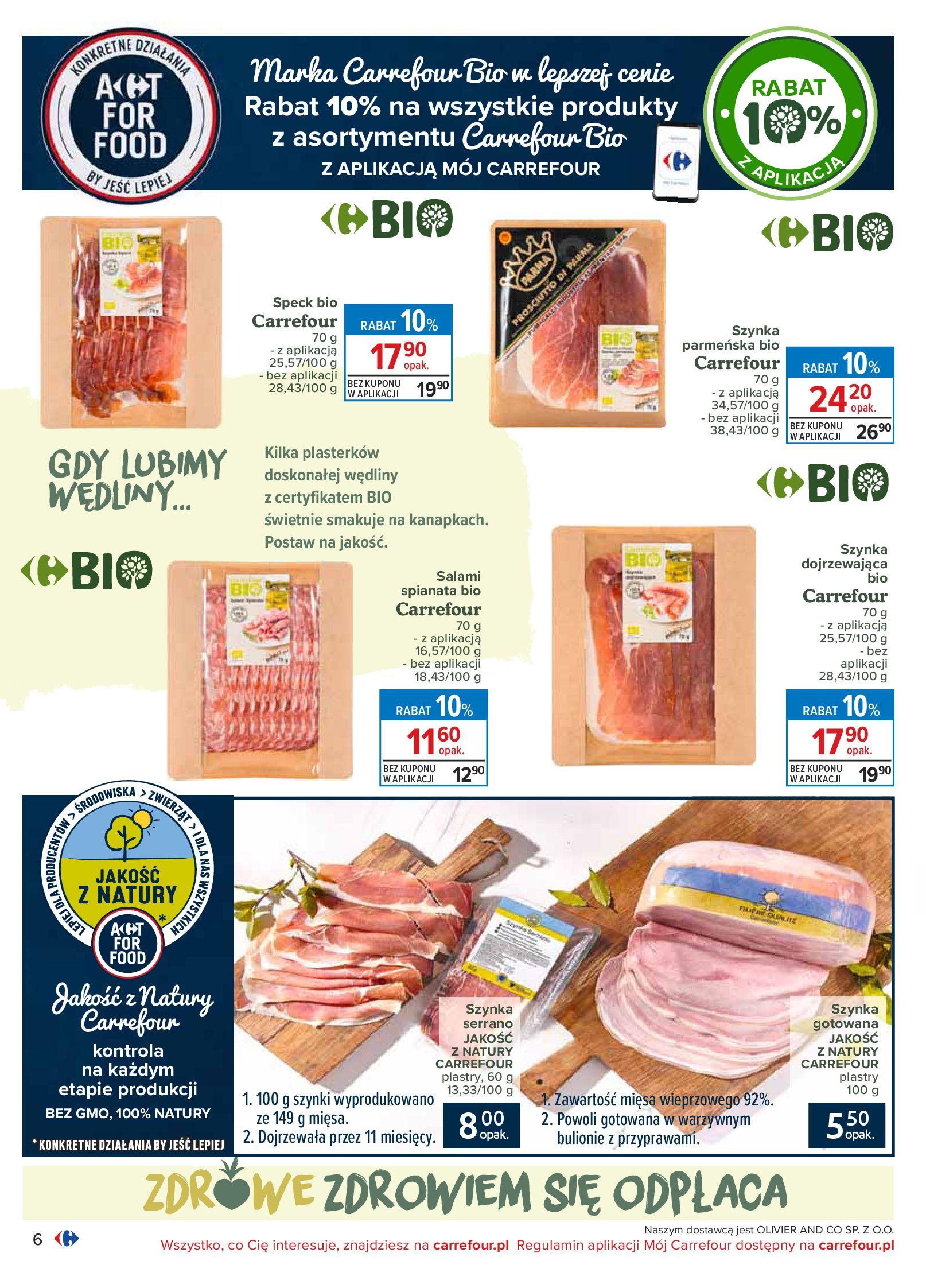 Gazetka Carrefour - Katalog - Możemy jeść mądrze-29.06.2020-18.07.2020-page-6