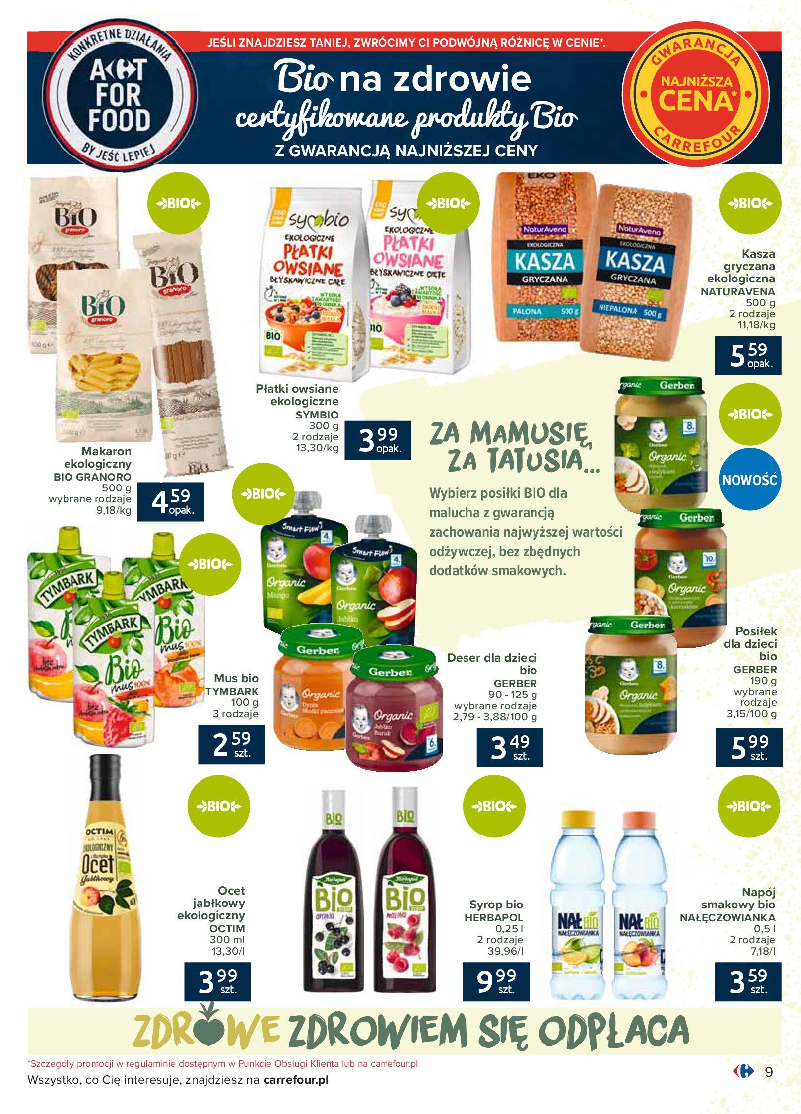 Gazetka Carrefour - Katalog - Możemy jeść mądrze-29.06.2020-18.07.2020-page-9